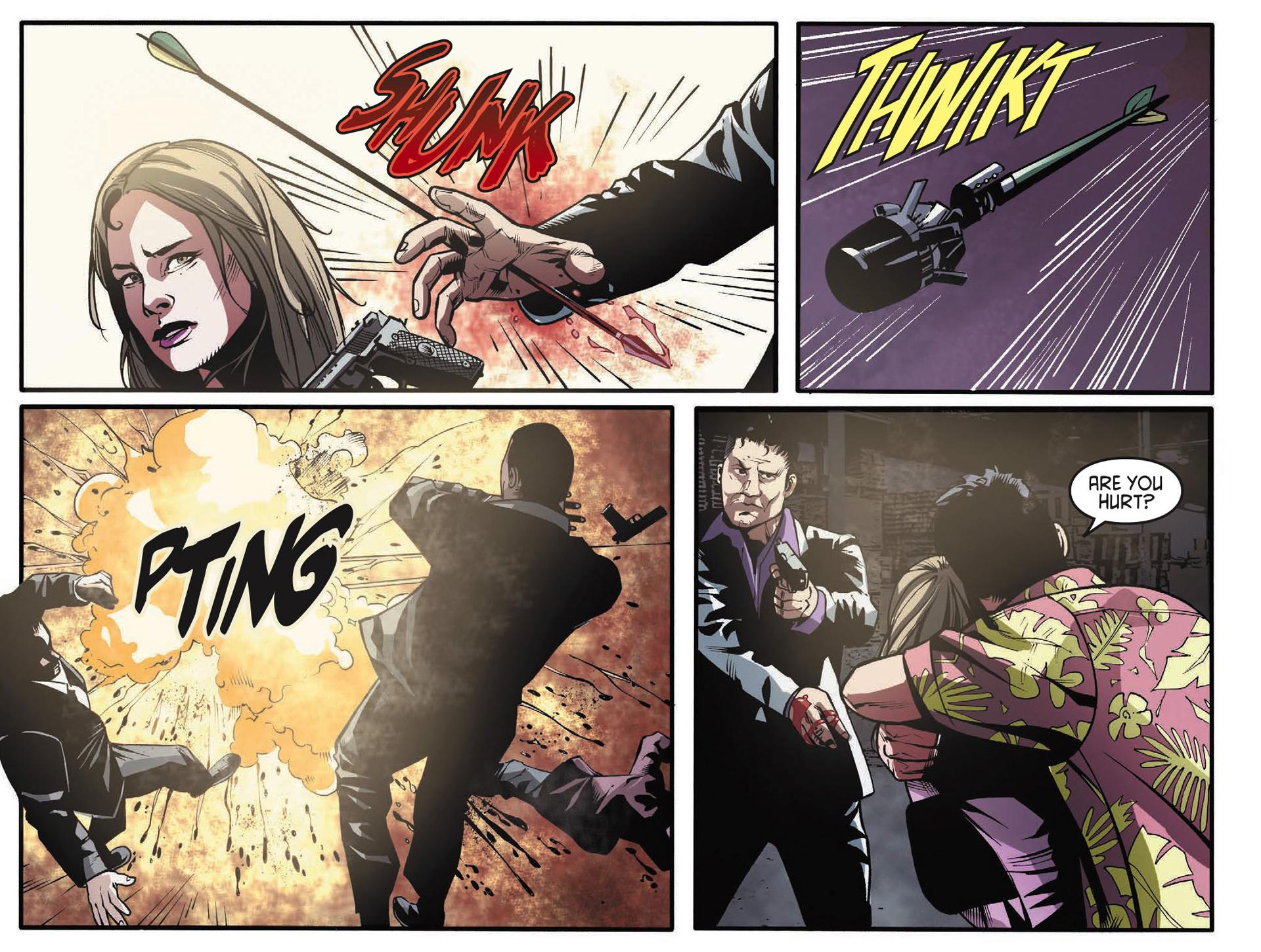 Read online Arrow [II] comic -  Issue #34 - 20