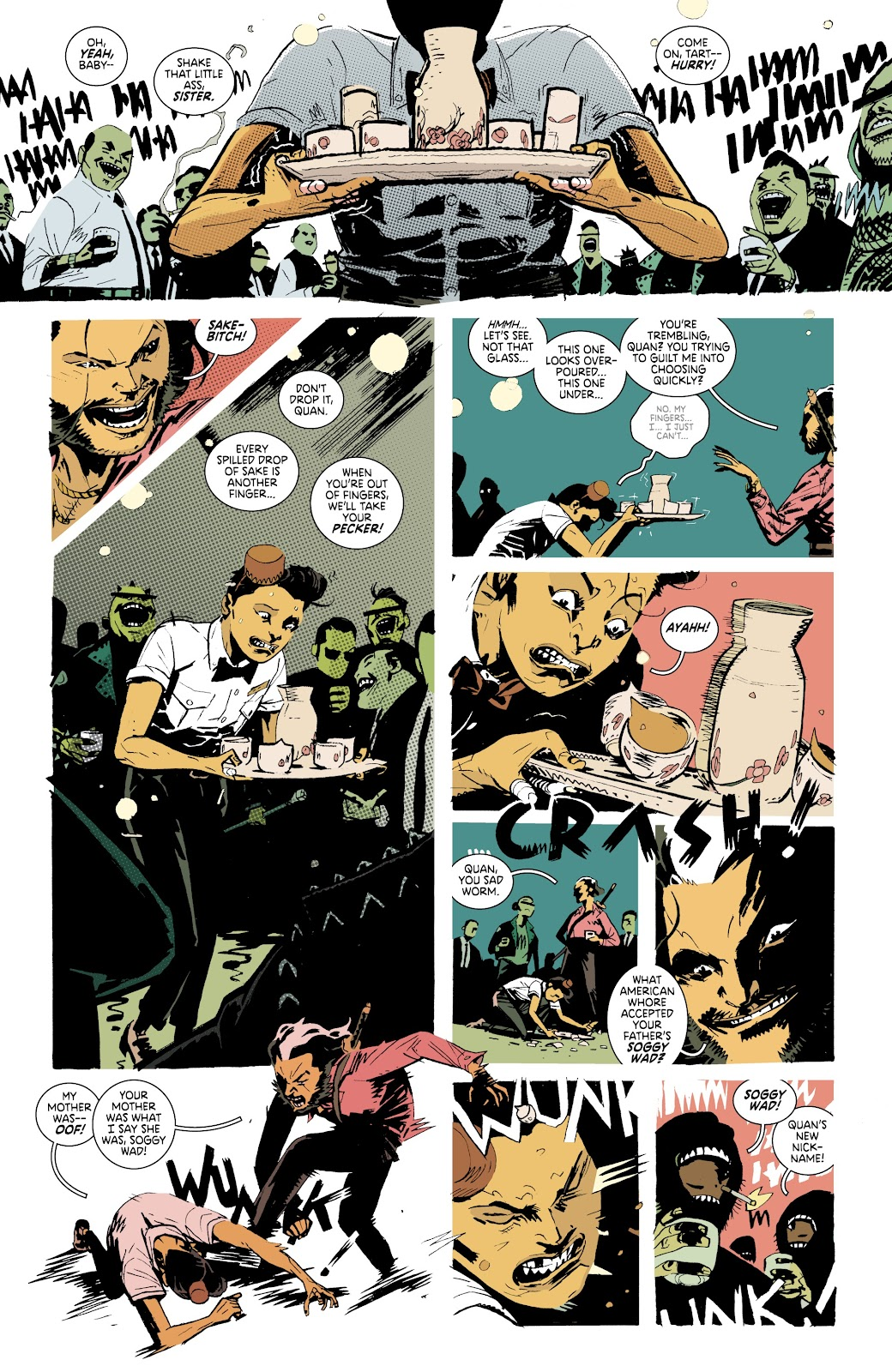 Read online Deadly Class comic -  Issue #37 - 4