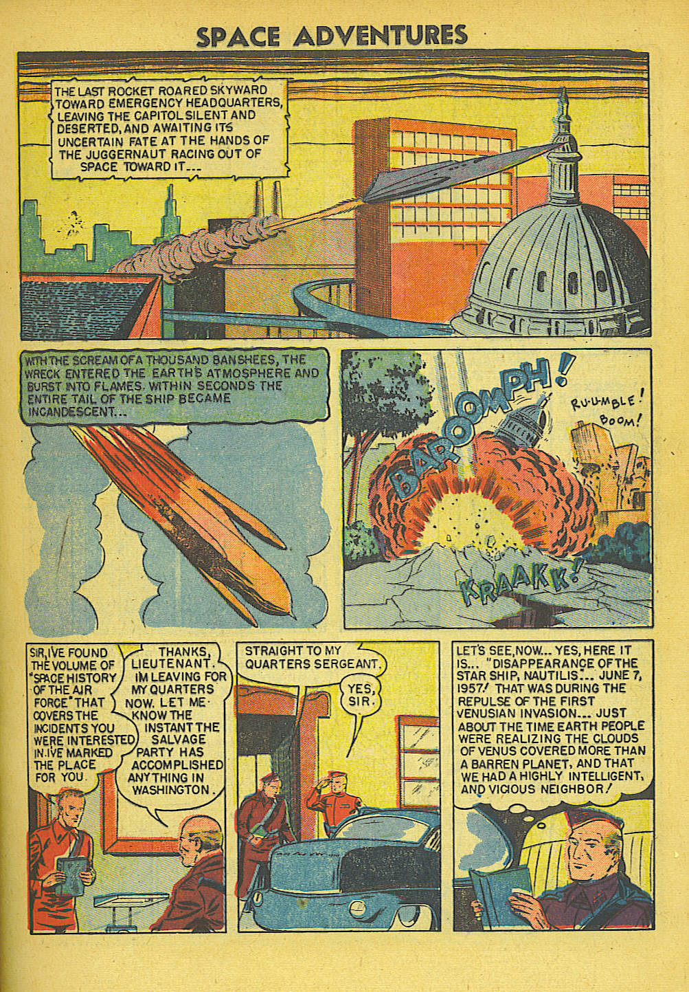 Space Adventures (1952) issue 5 - Page 4