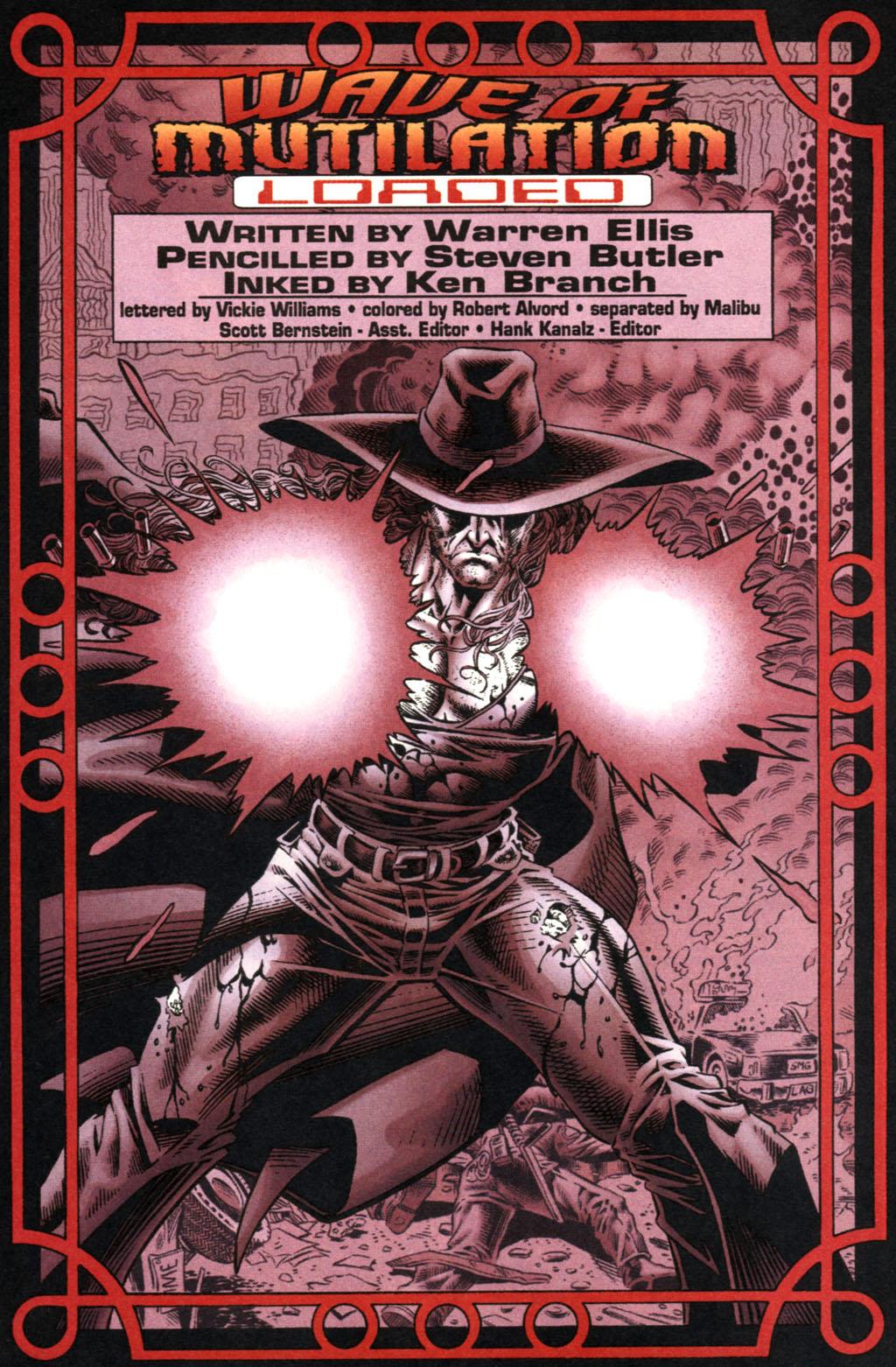 Read online UltraForce (1995) comic -  Issue #2 - 2