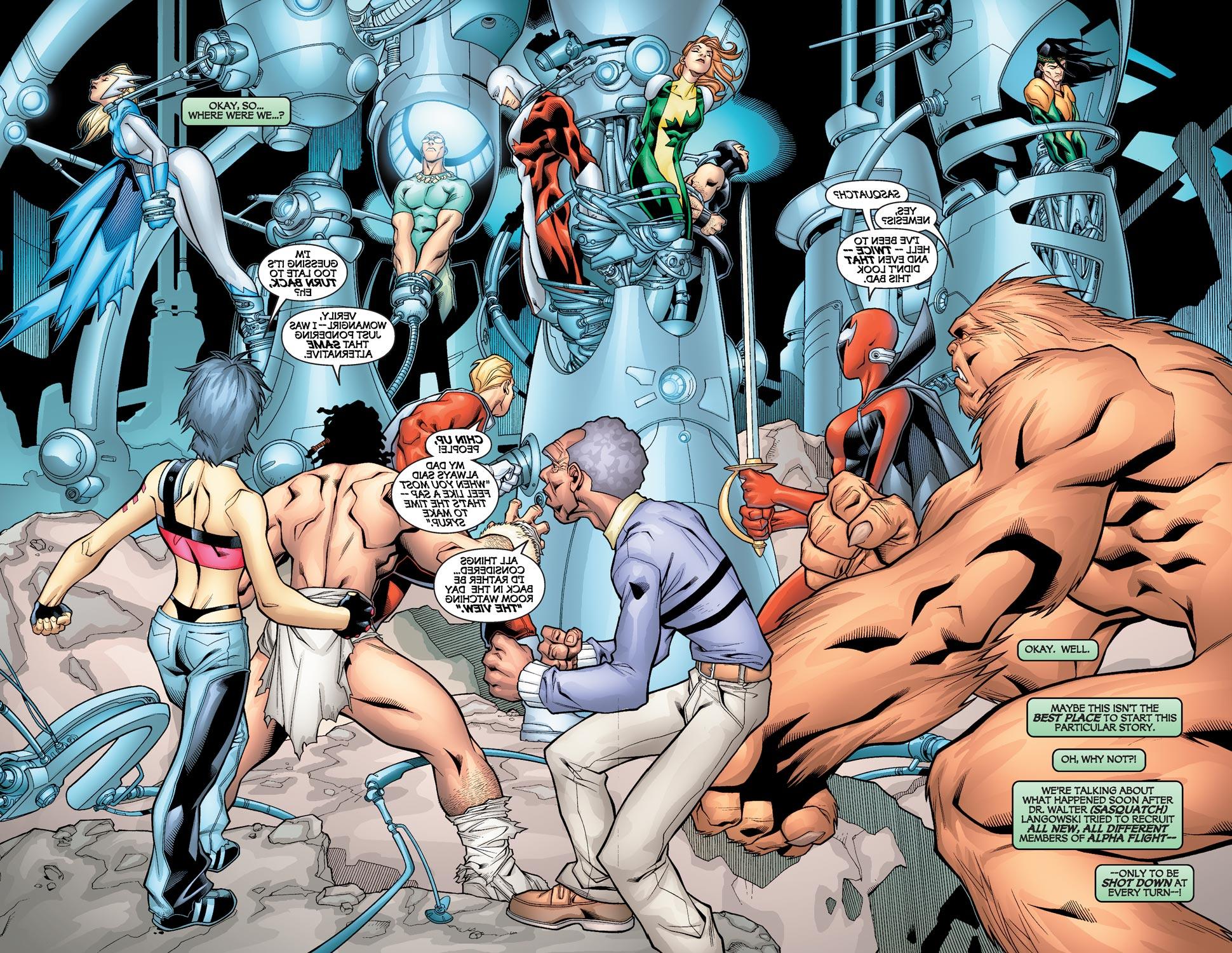 Read online Alpha Flight (2004) comic -  Issue #2 - 3