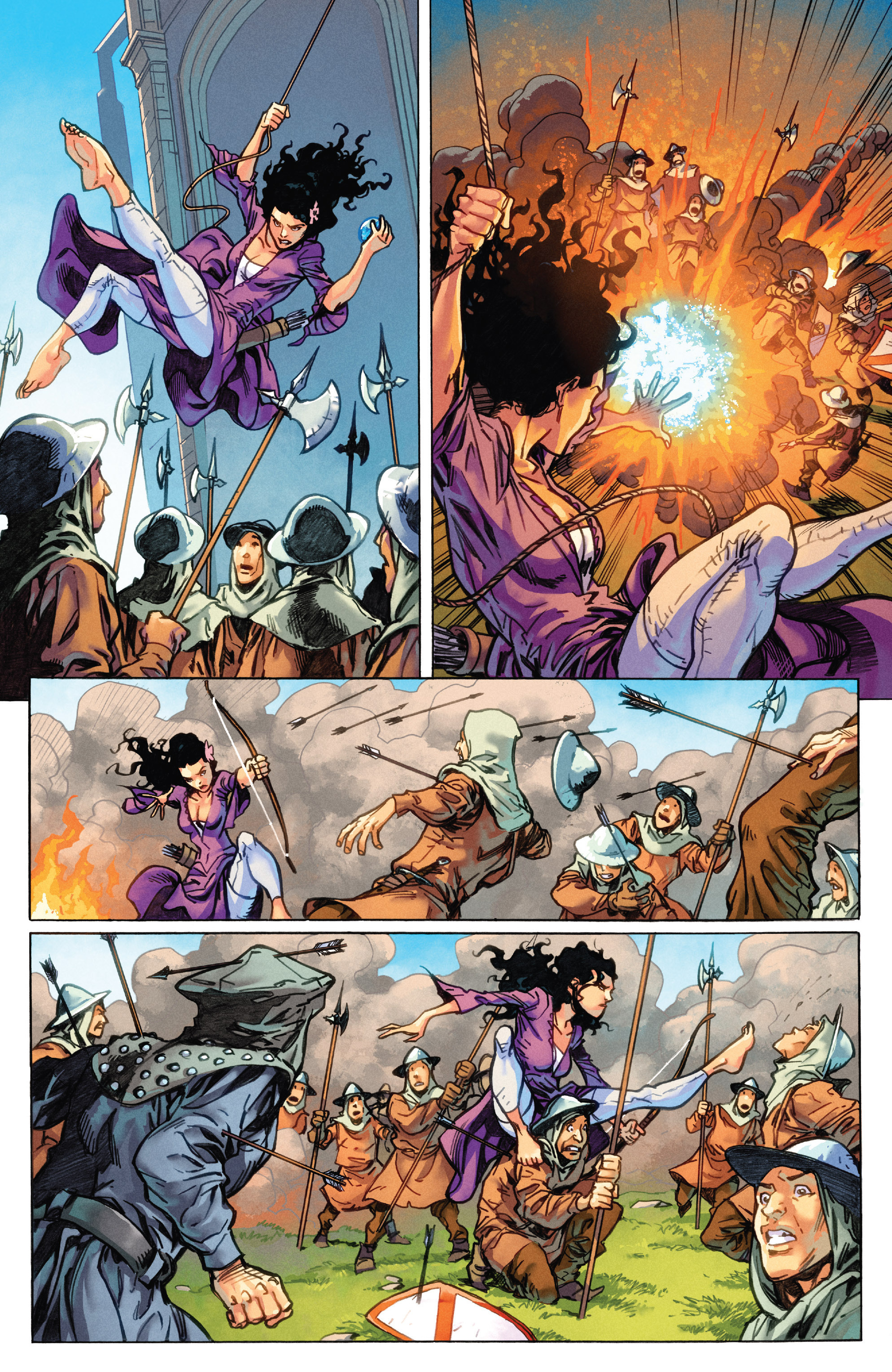 Read online Secret Wars Journal/Battleworld comic -  Issue # TPB - 14