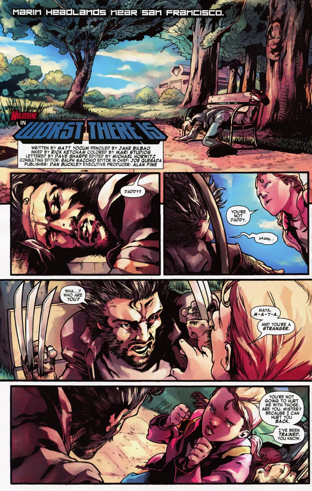 Read online Wolverine (2003) comic -  Issue #900 - 57