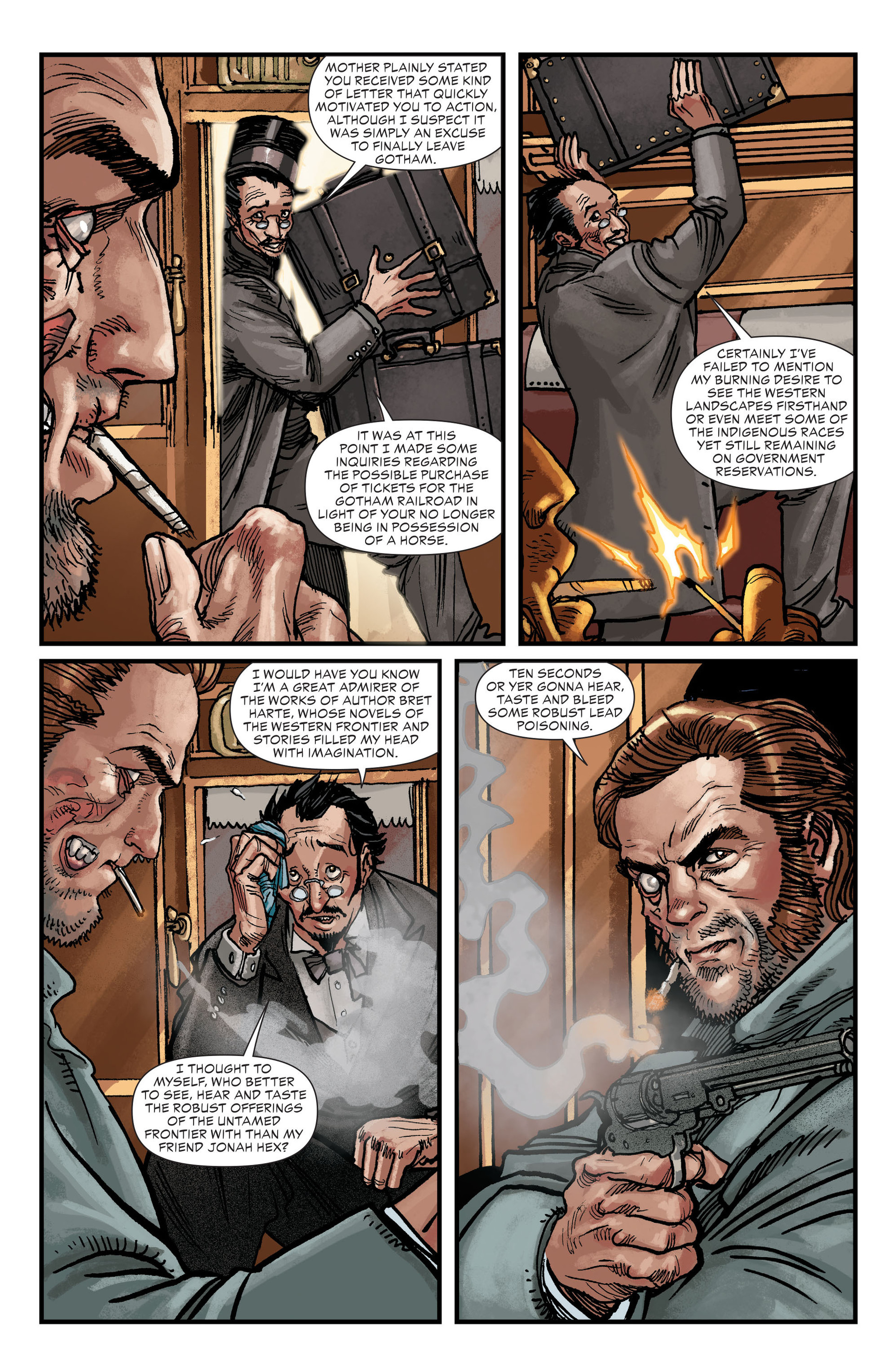 Read online All-Star Western (2011) comic -  Issue #18 - 20