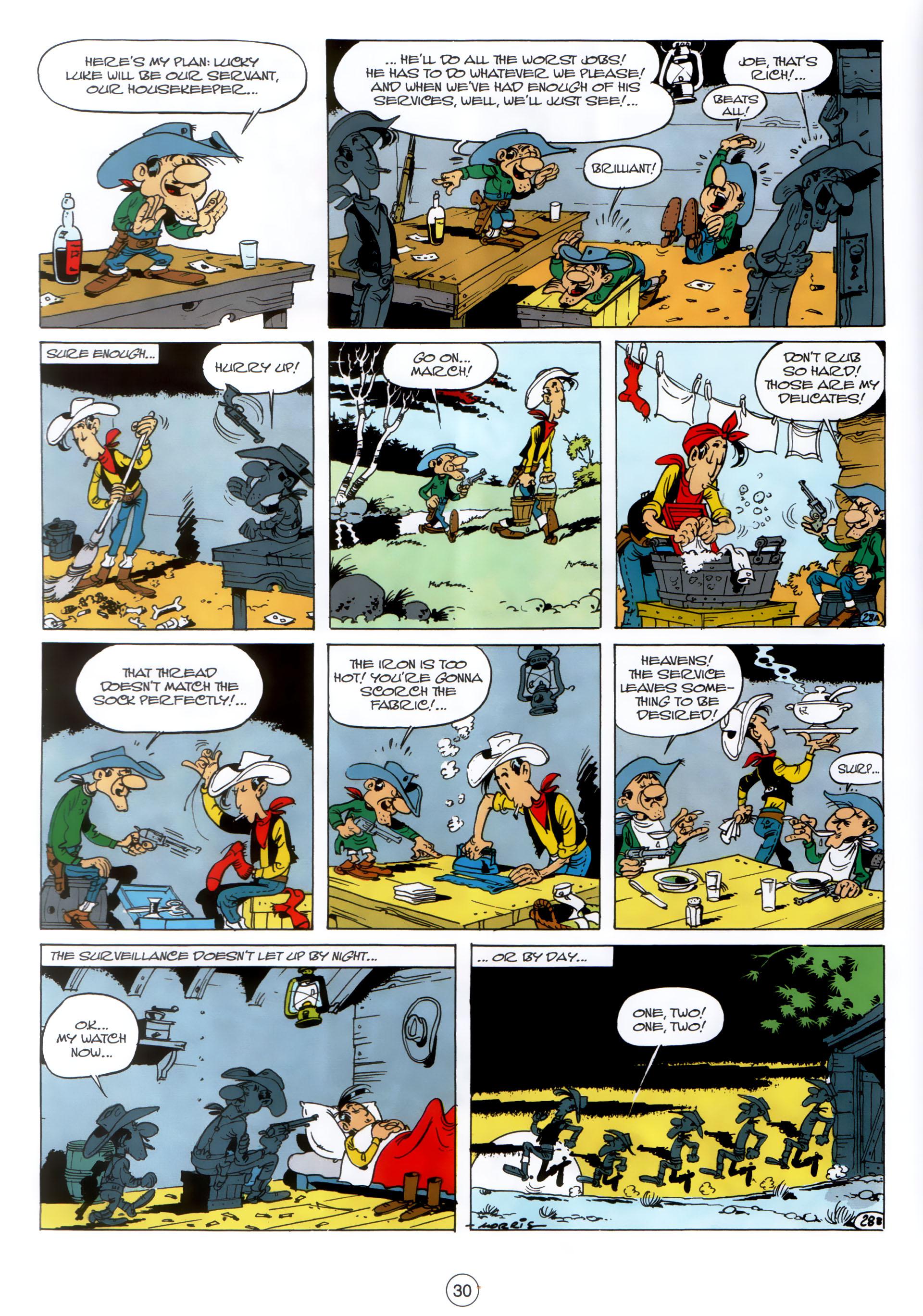 Read online A Lucky Luke Adventure comic -  Issue #30 - 29