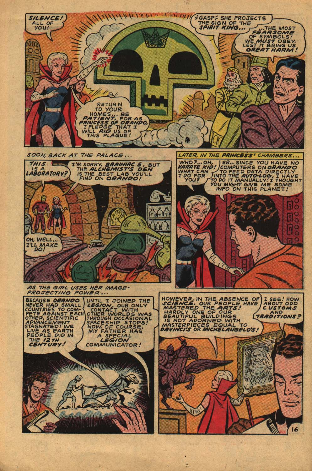 Read online Adventure Comics (1938) comic -  Issue #362 - 26