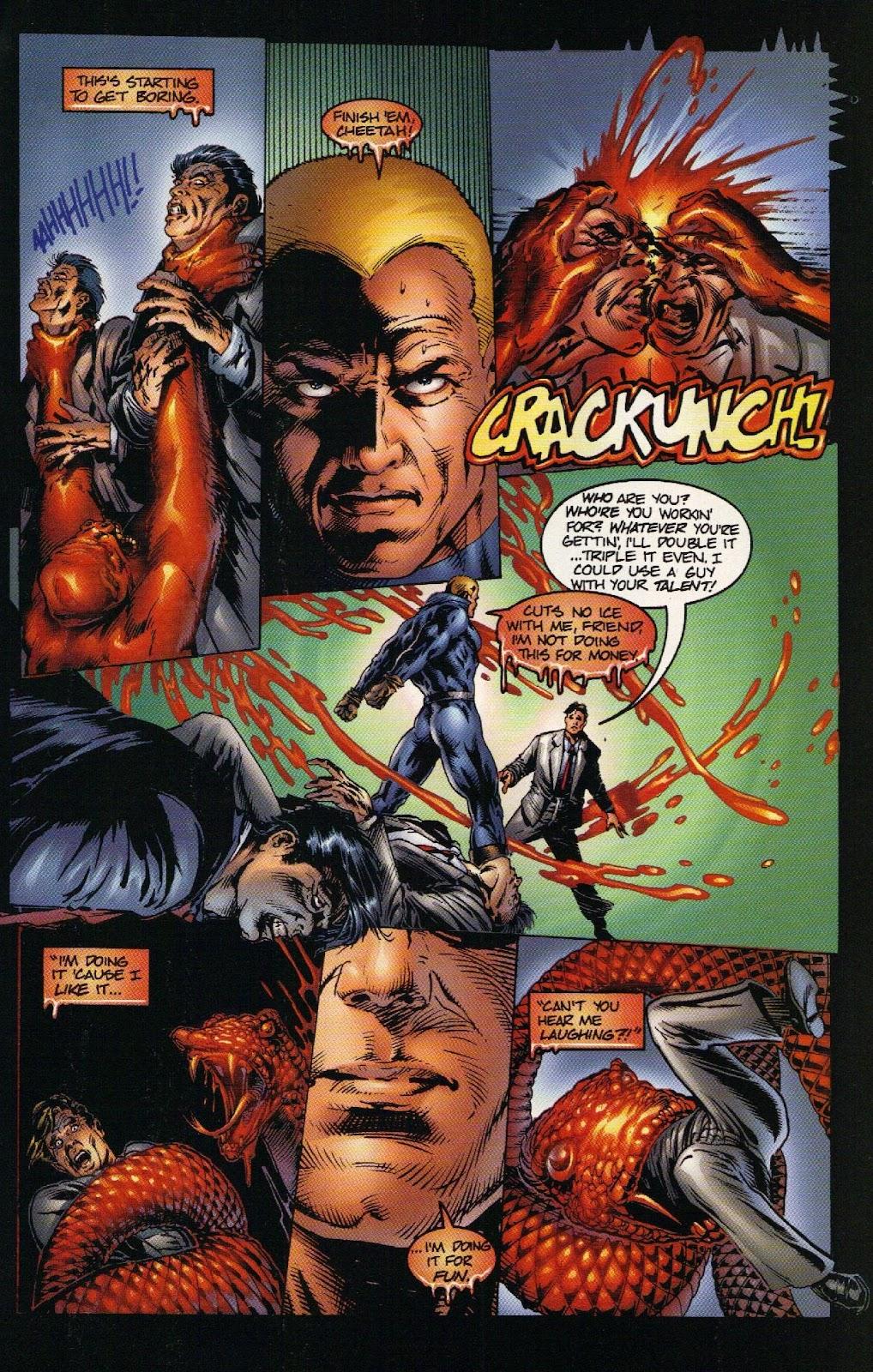 Vampirella vs Hemorrhage issue 1 - Page 19