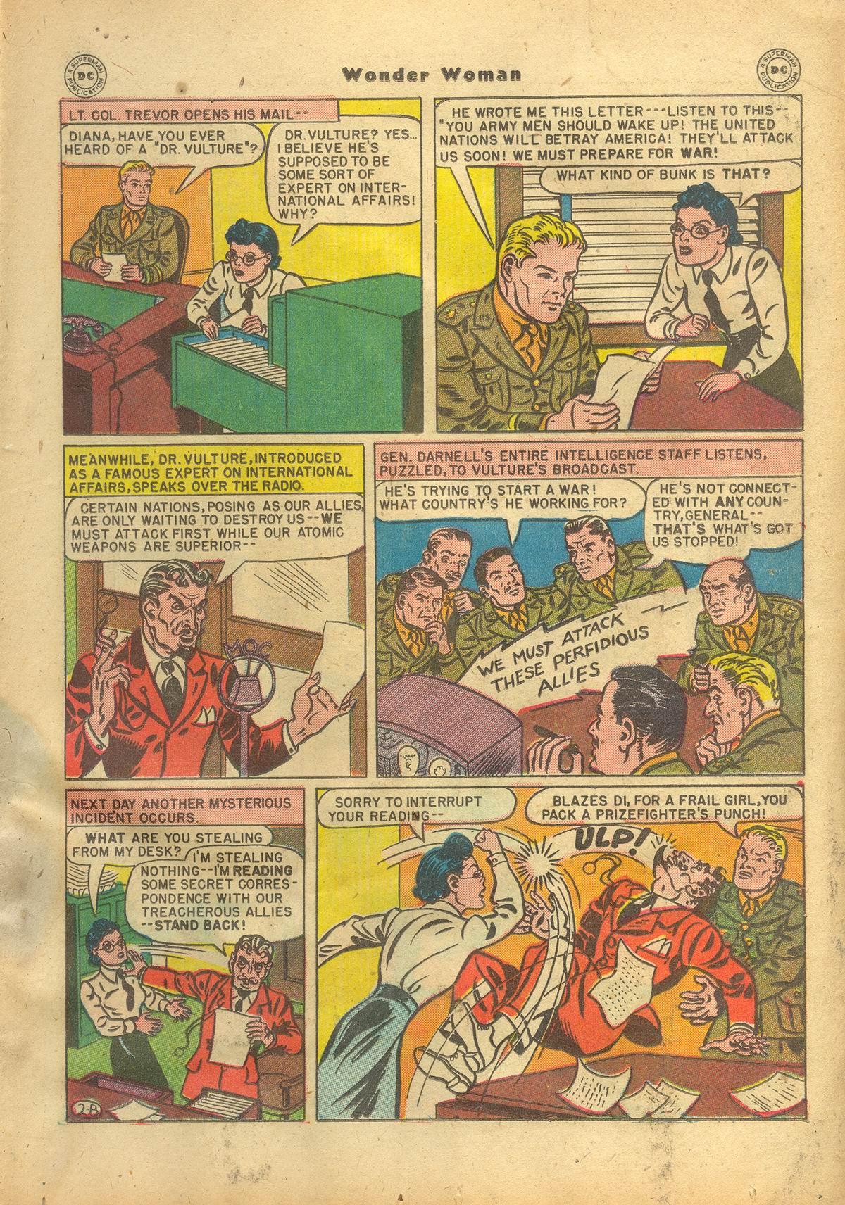 Read online Wonder Woman (1942) comic -  Issue #22 - 21