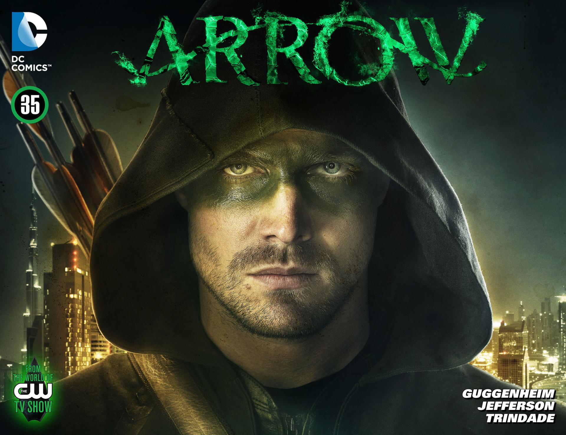Read online Arrow [II] comic -  Issue #35 - 1