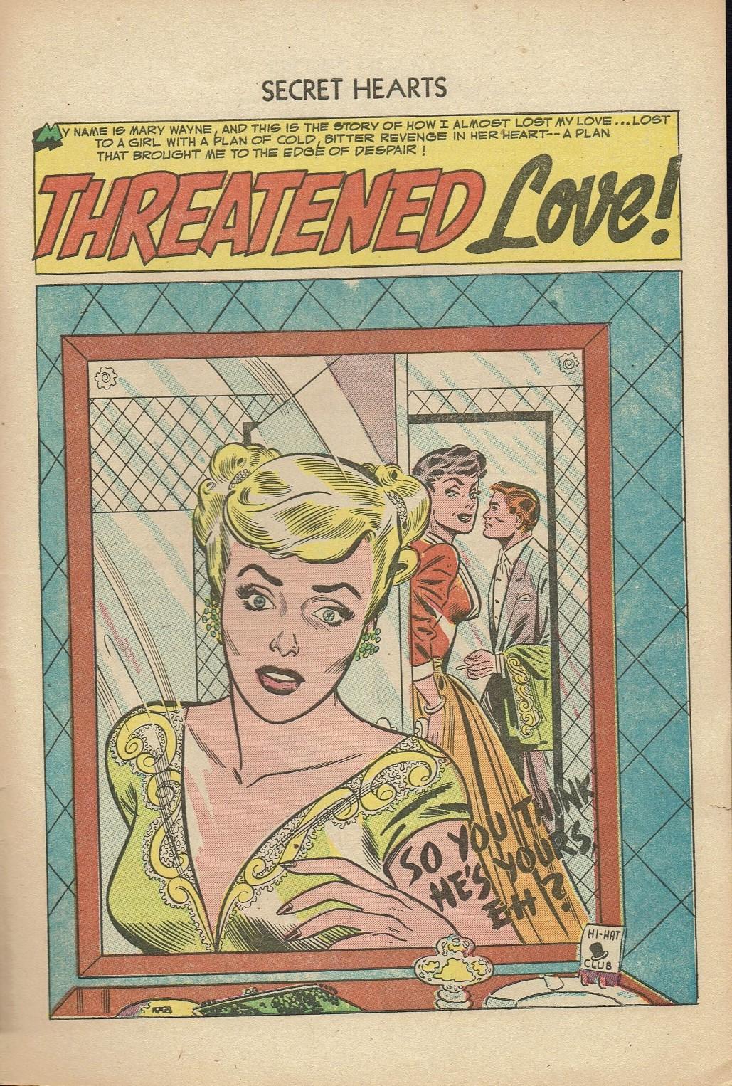 Read online Secret Hearts comic -  Issue #14 - 27