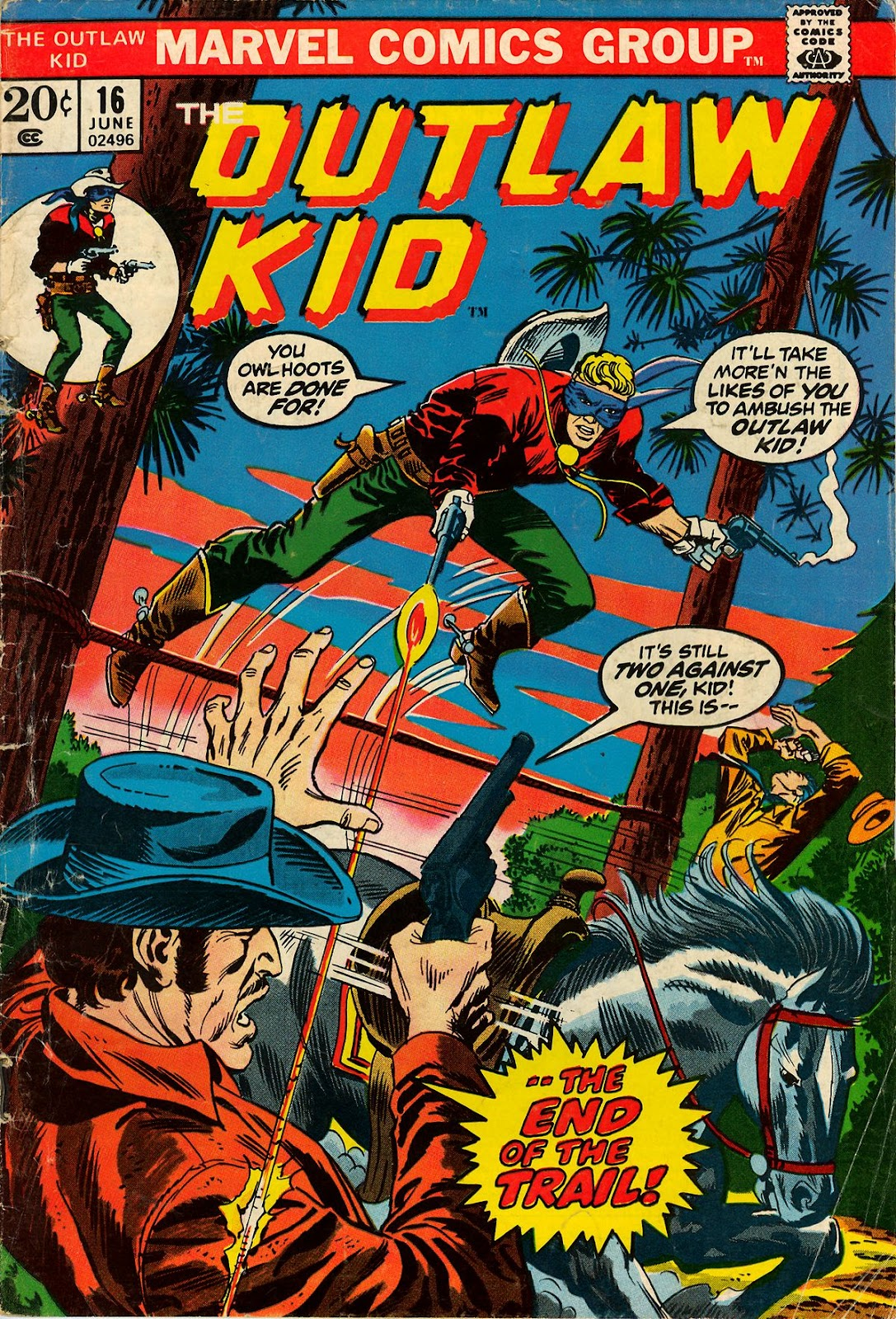 The Outlaw Kid (1970) issue 16 - Page 1
