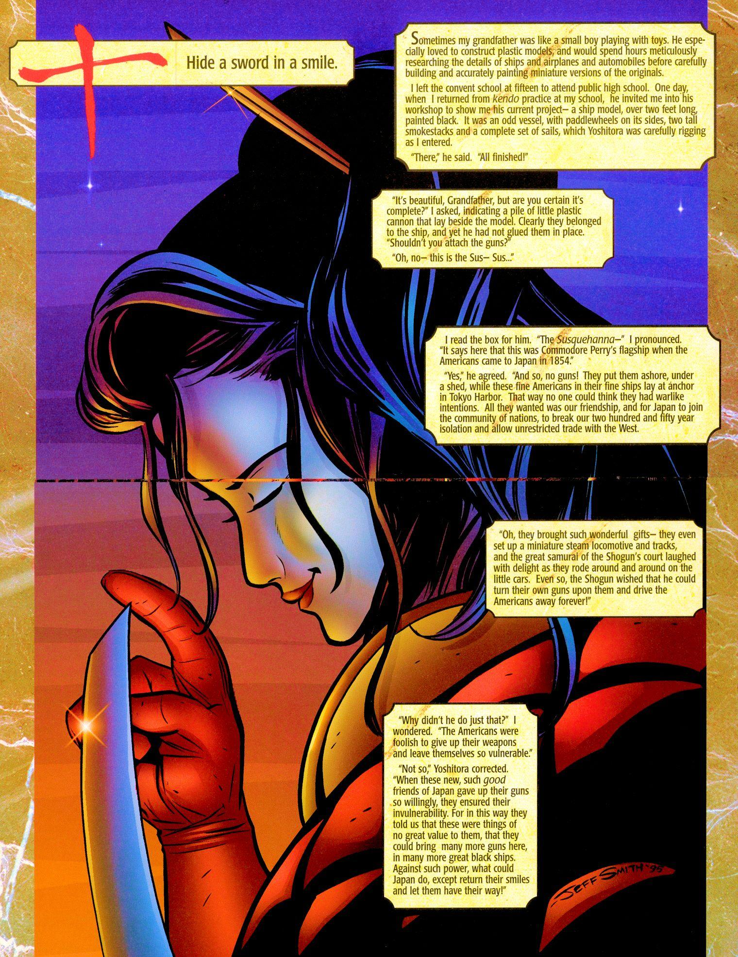 Read online Shi: Senryaku comic -  Issue #1 - 15