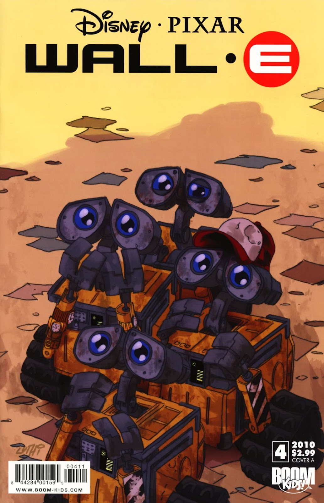 WALL•E (2009) issue 4 - Page 1