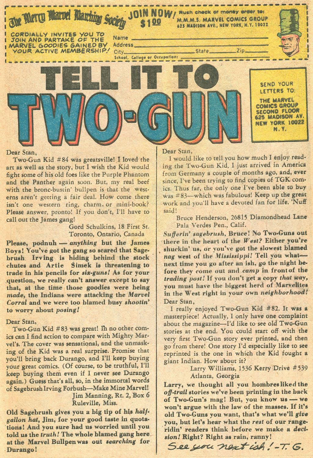 Read online Two-Gun Kid comic -  Issue #86 - 33
