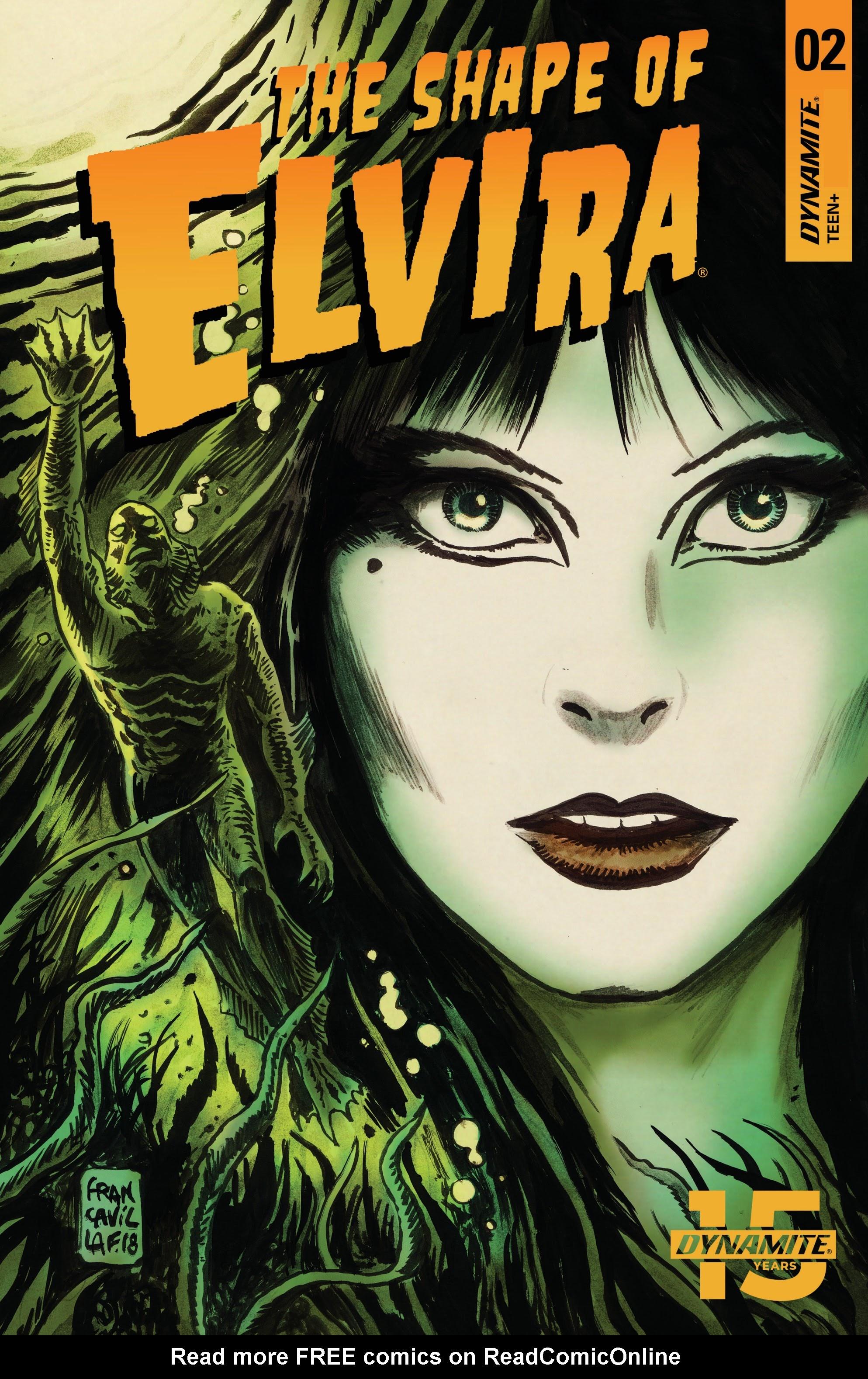 Elvira: The Shape of Elvira 2 Page 1