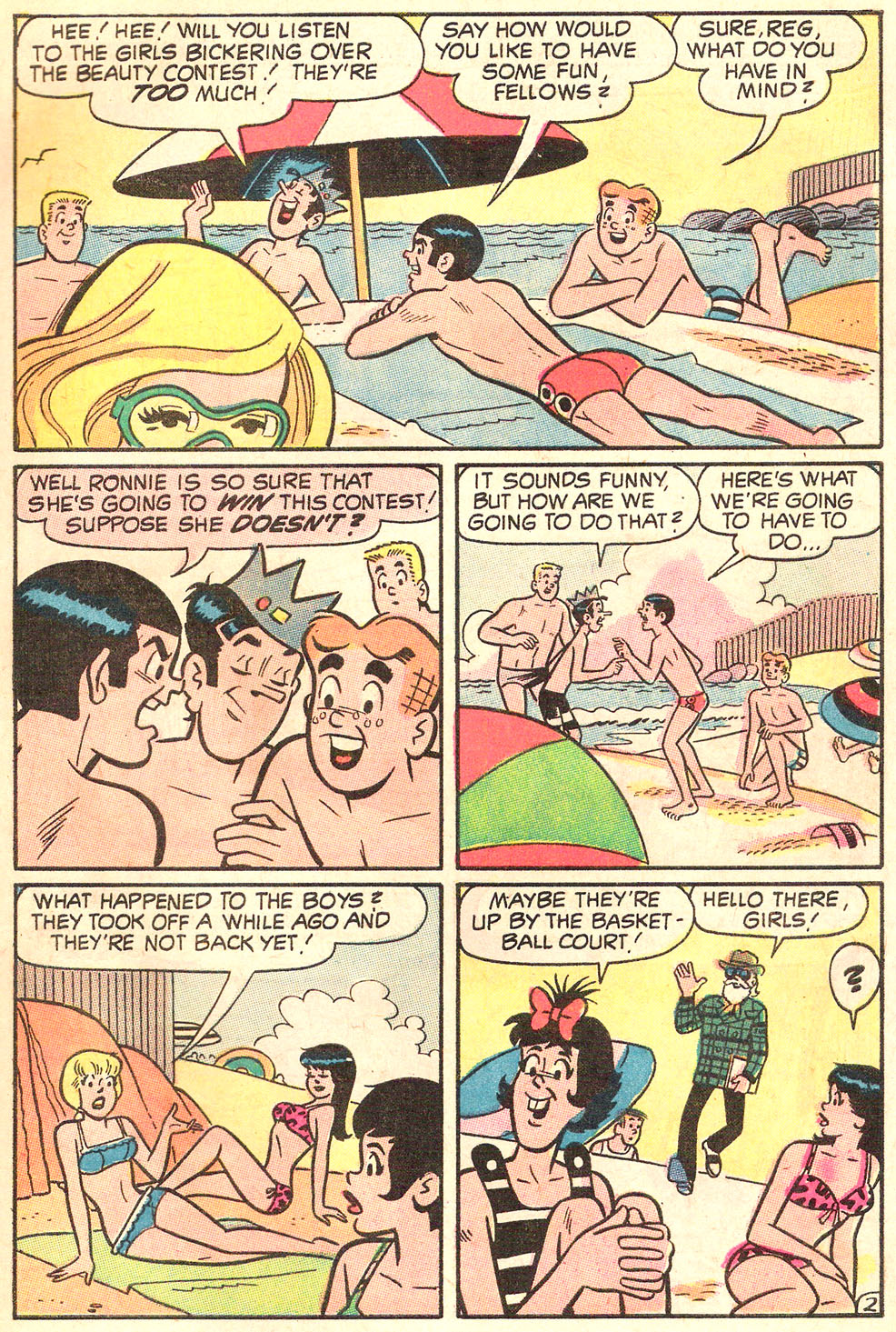 Read online Archie's Girls Betty and Veronica comic -  Issue #178 - 28