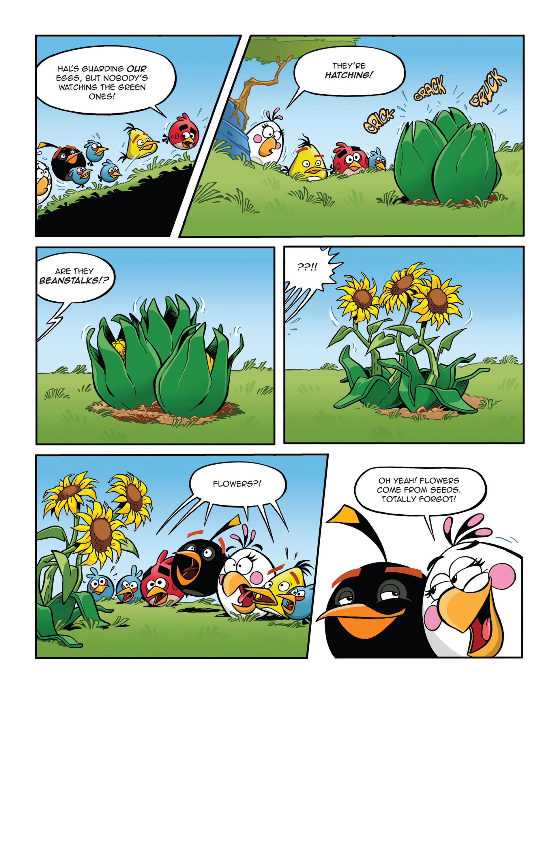Read online Angry Birds Comics (2014) comic -  Issue #5 - 11