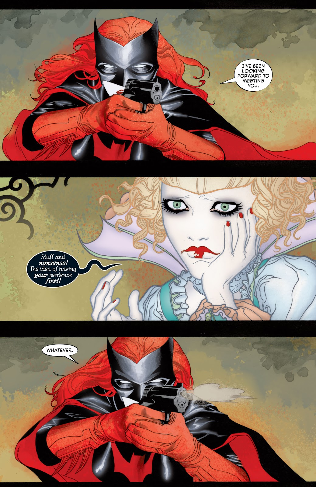 Read online Detective Comics (1937) comic -  Issue # _TPB Batwoman - Elegy (Part 1) - 25