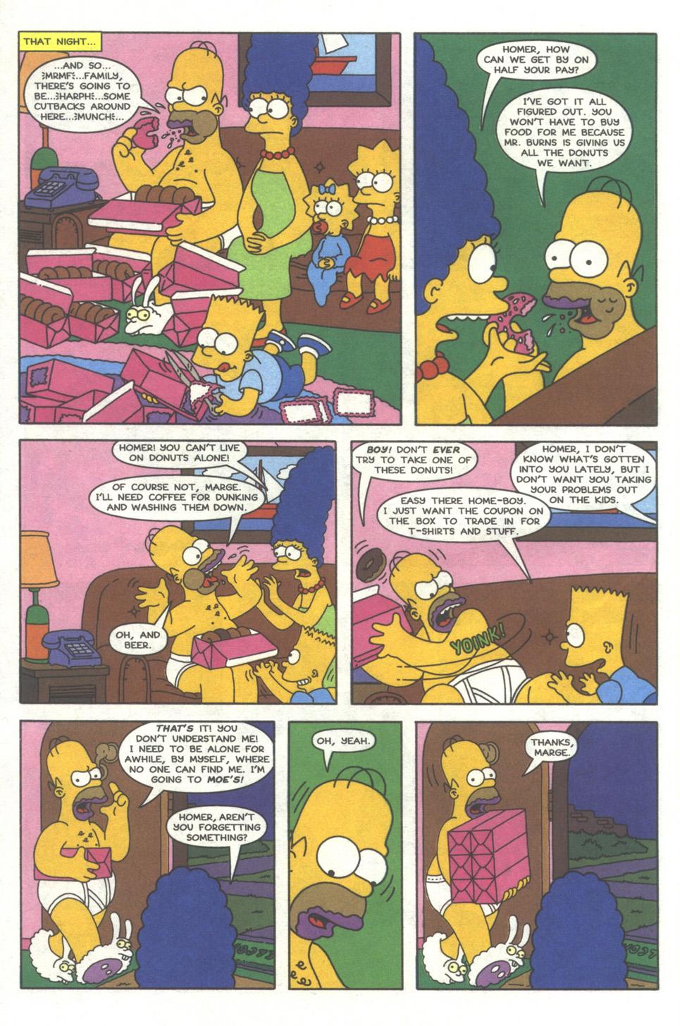 Read online Simpsons Comics comic -  Issue #38 - 11