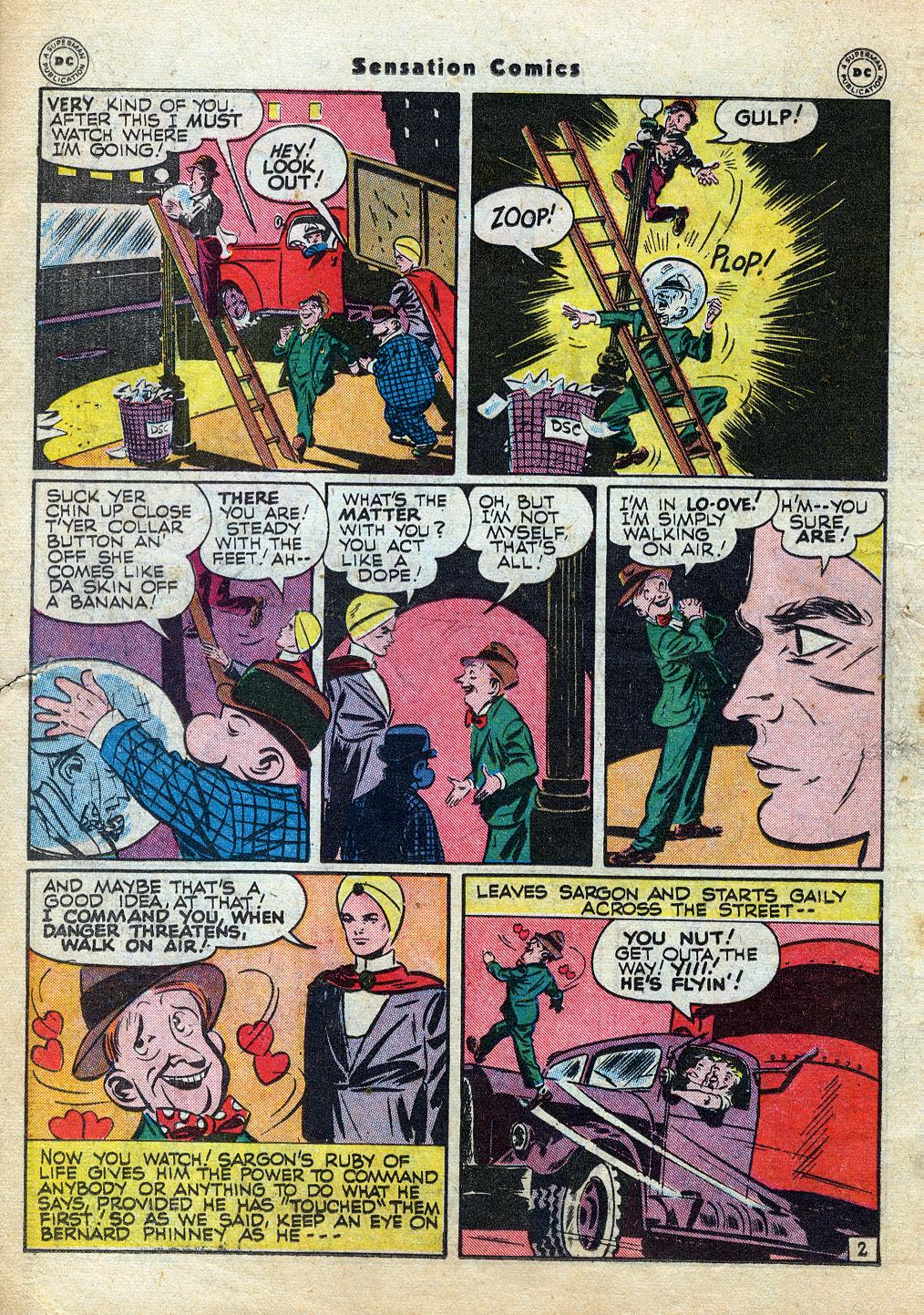 Read online Sensation (Mystery) Comics comic -  Issue #60 - 26