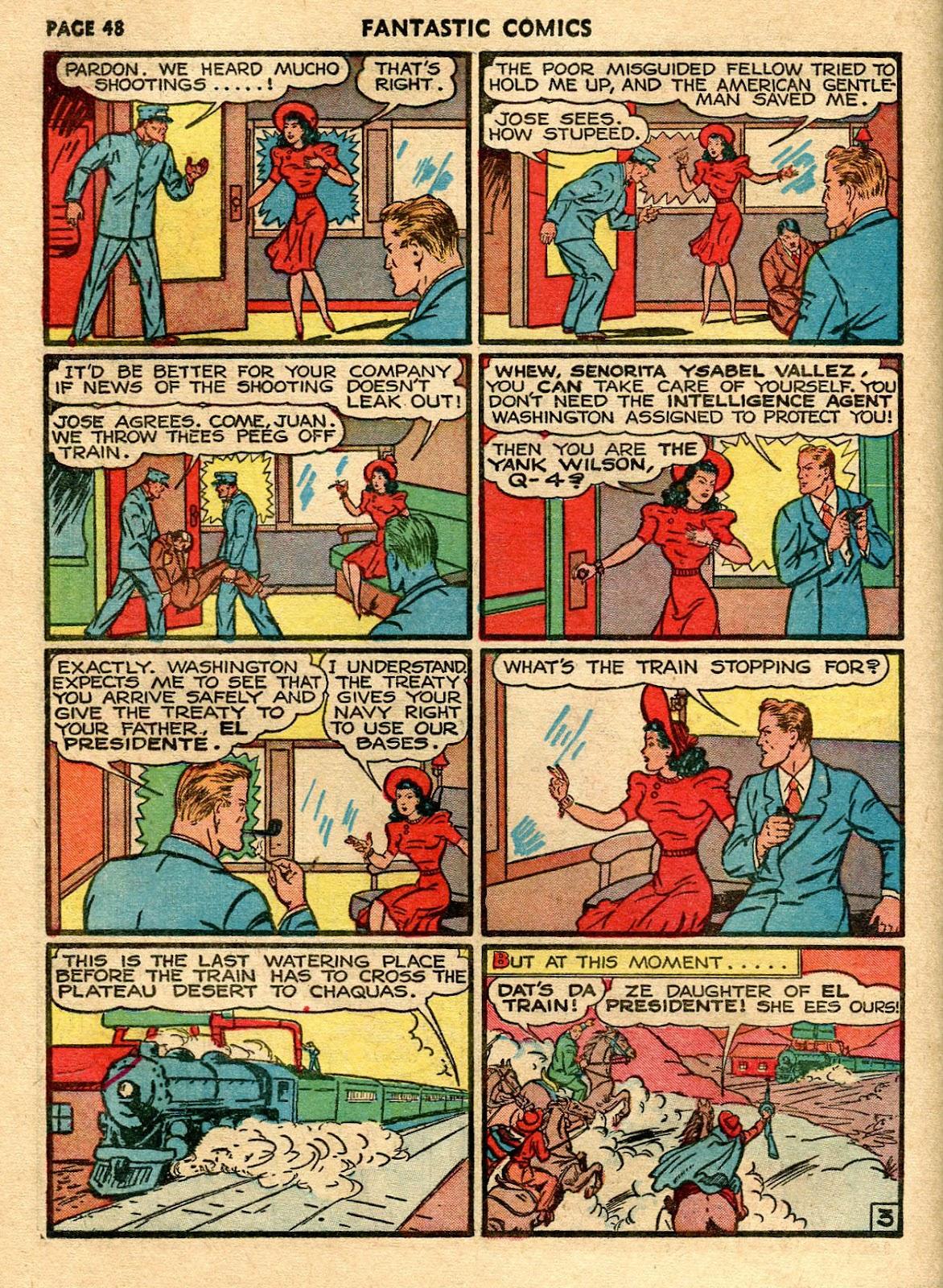 Read online Fantastic Comics comic -  Issue #21 - 46