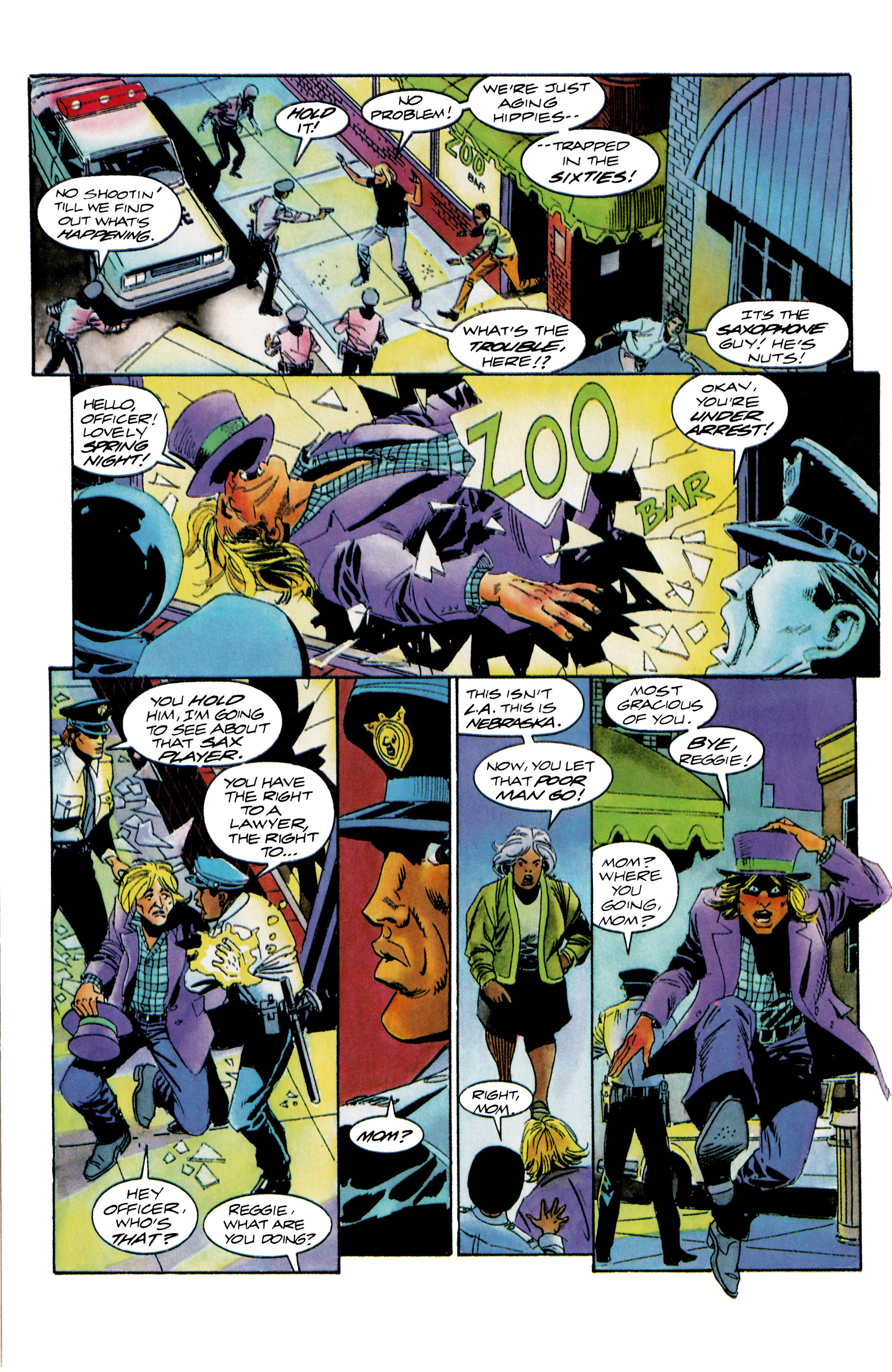 Read online Shadowman (1992) comic -  Issue #15 - 12
