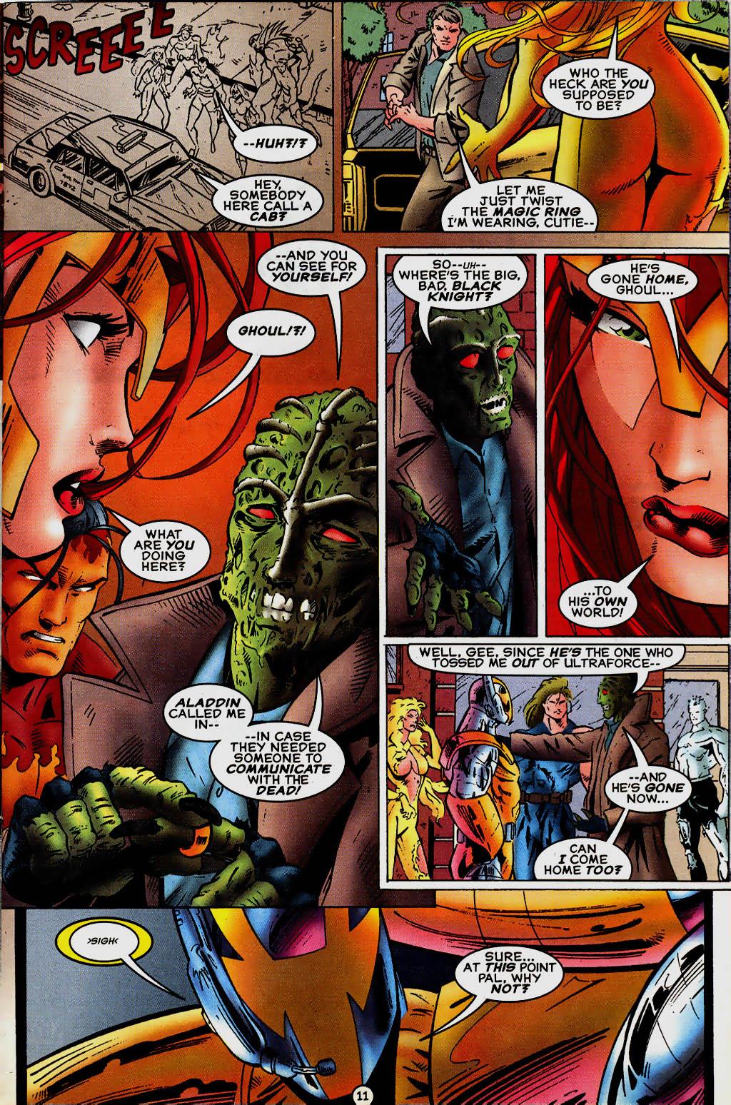 Read online UltraForce (1995) comic -  Issue #13 - 12