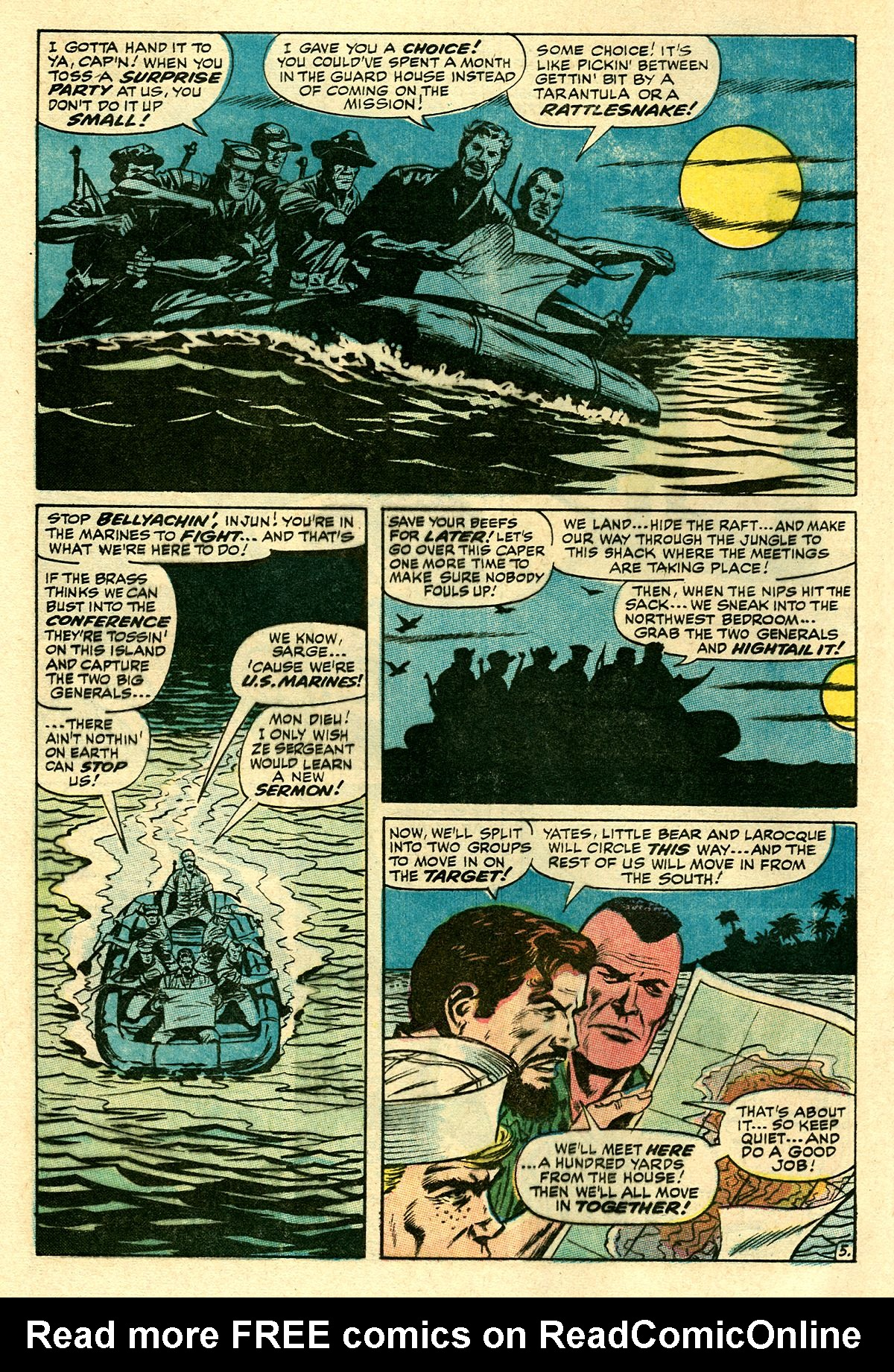 Captain Savage and his Leatherneck Raiders issue 8 - Page 8