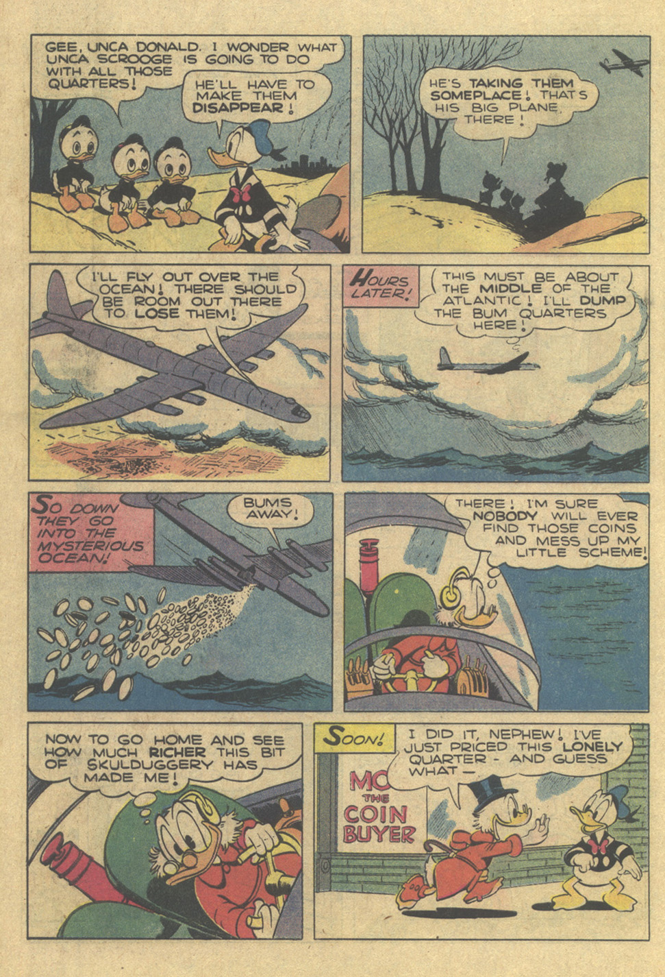 Read online Uncle Scrooge (1953) comic -  Issue #189 - 10