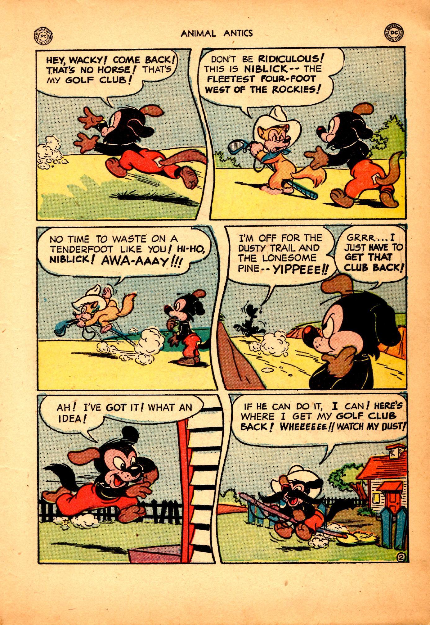 Read online Animal Antics comic -  Issue #25 - 9