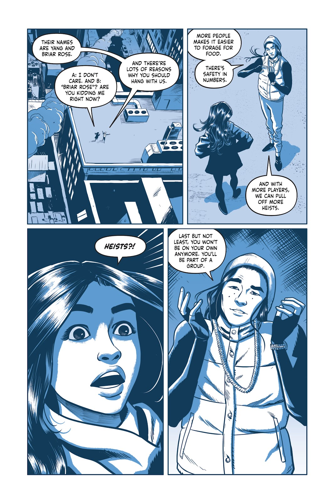 Read online Under the Moon: A Catwoman Tale comic -  Issue # TPB (Part 1) - 95