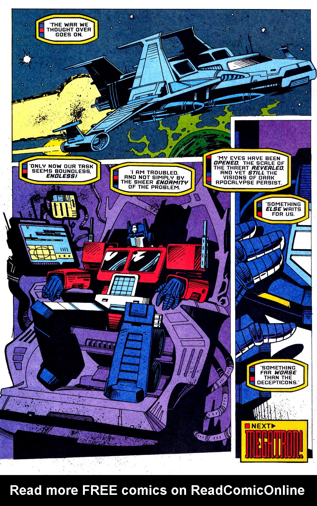 Read online Transformers: Generation 2 comic -  Issue #1 - 35