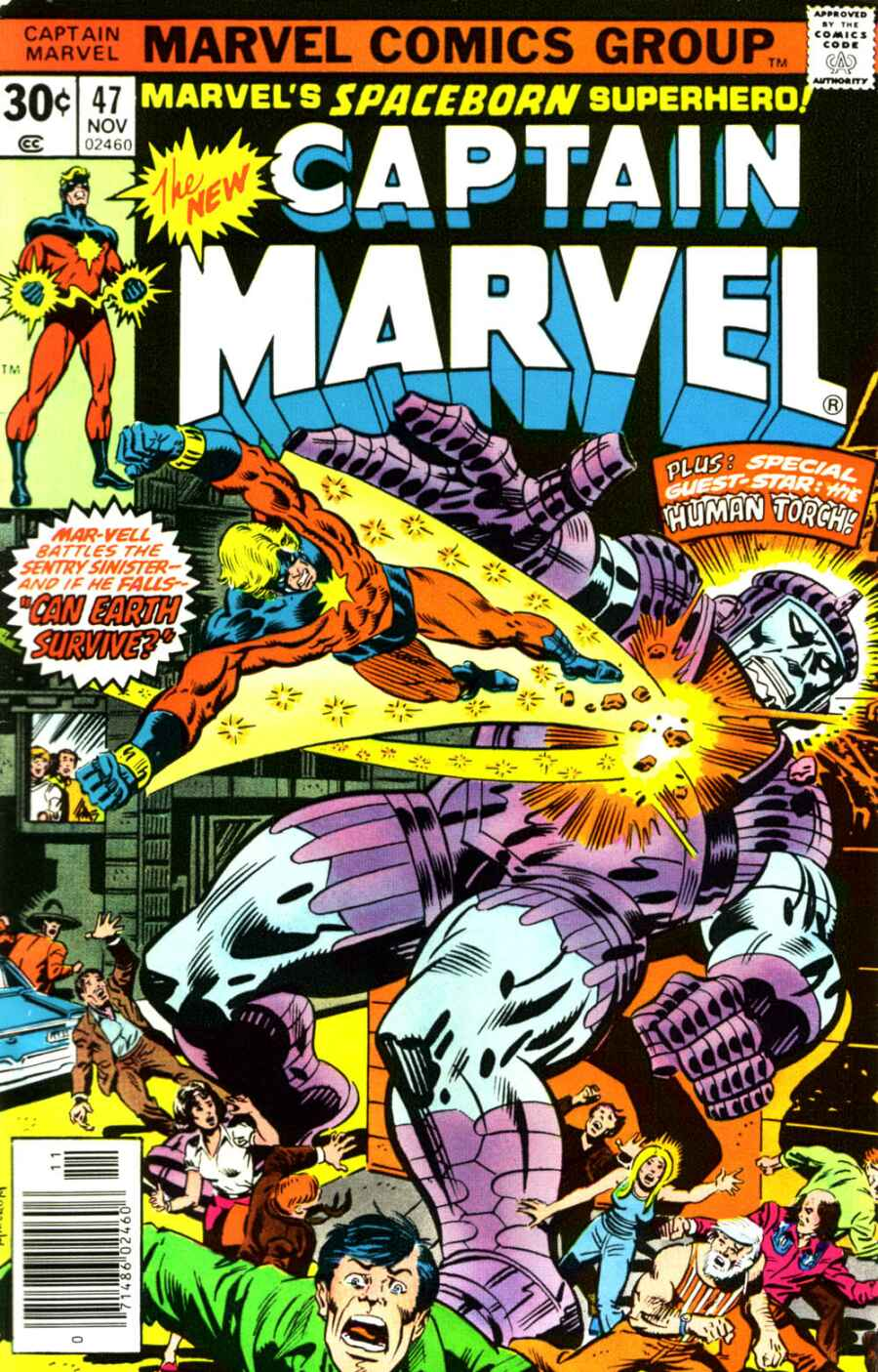Captain Marvel (1968) issue 47 - Page 1
