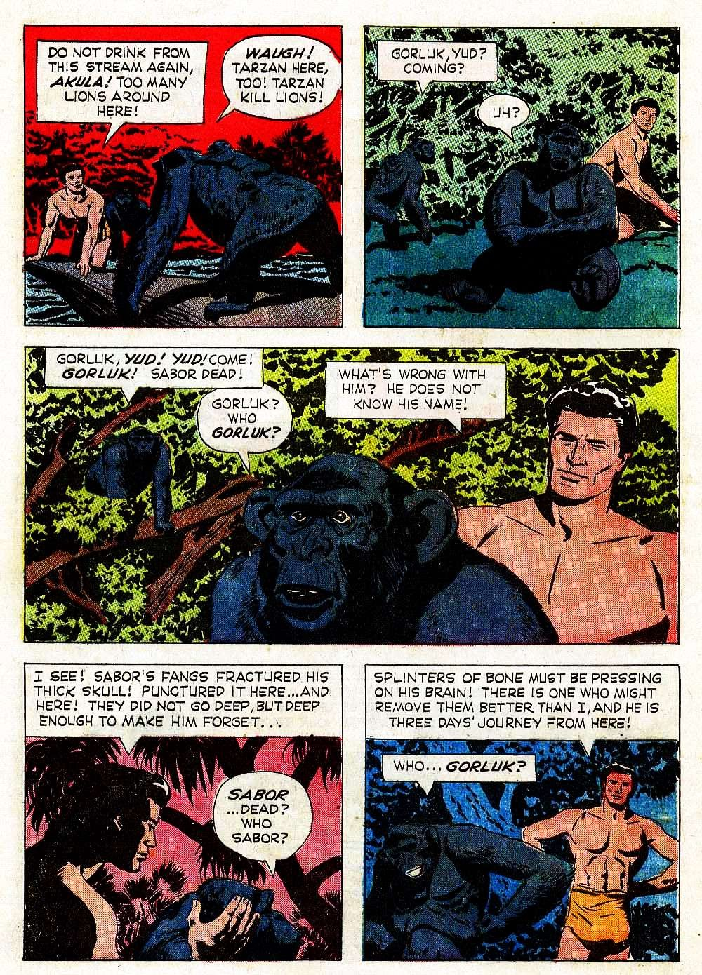 Tarzan (1962) issue 139 - Page 8