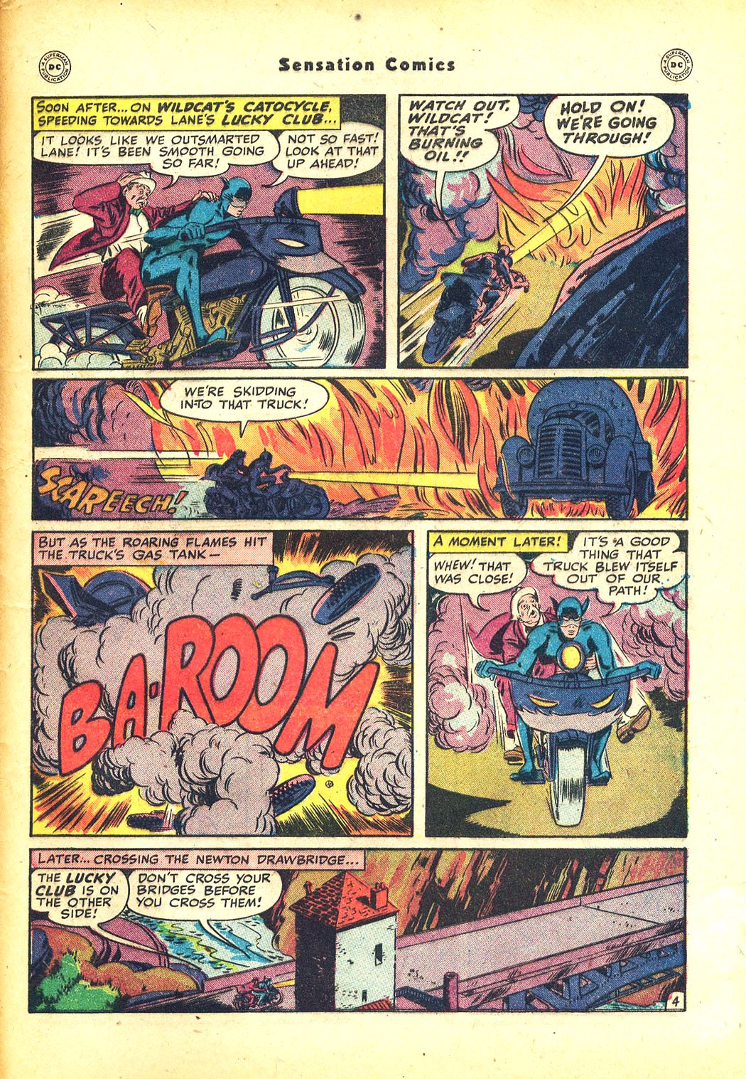 Read online Sensation (Mystery) Comics comic -  Issue #81 - 47