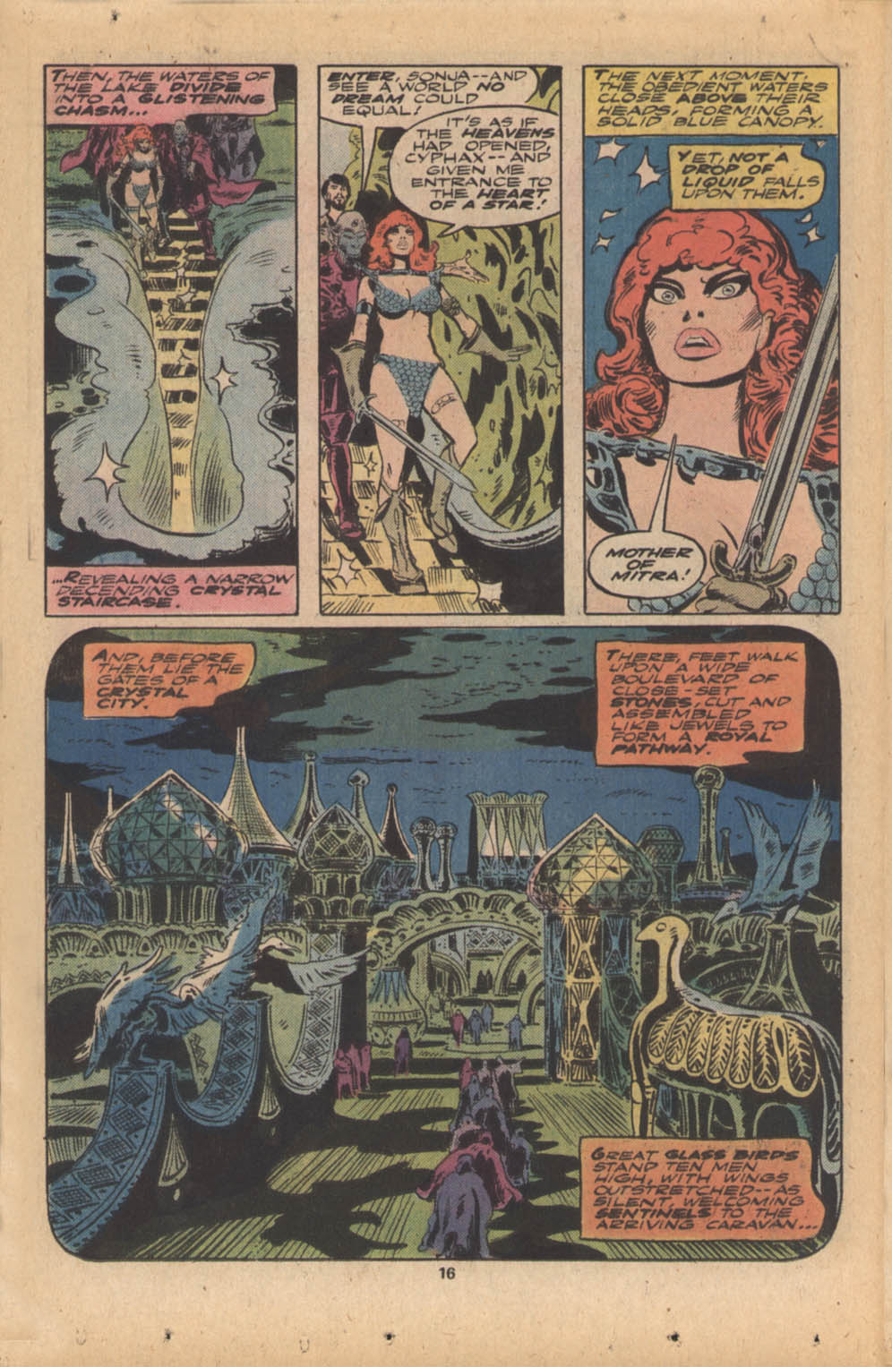 Red Sonja (1977) issue 4 - Page 11