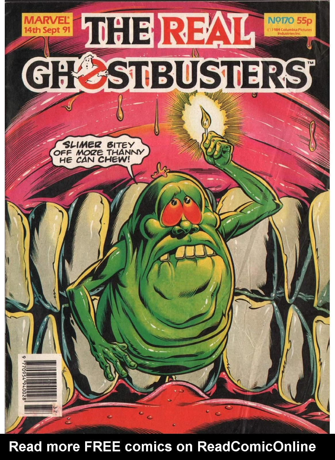 The Real Ghostbusters 170 Page 1