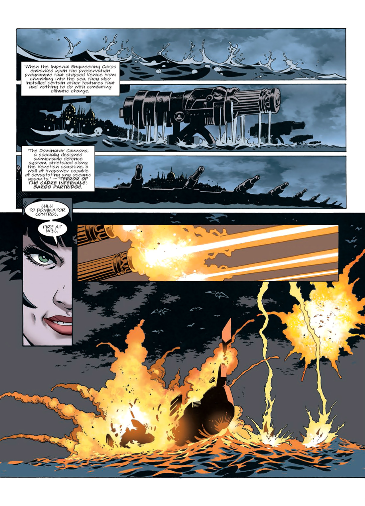 Read online Nikolai Dante comic -  Issue # TPB 9 - 170