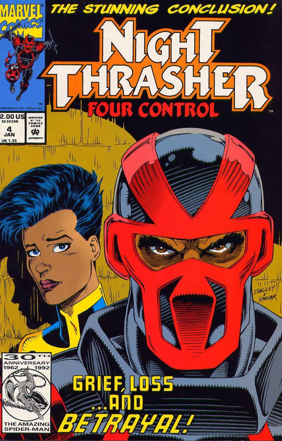 Night Thrasher: Four Control 4 Page 1