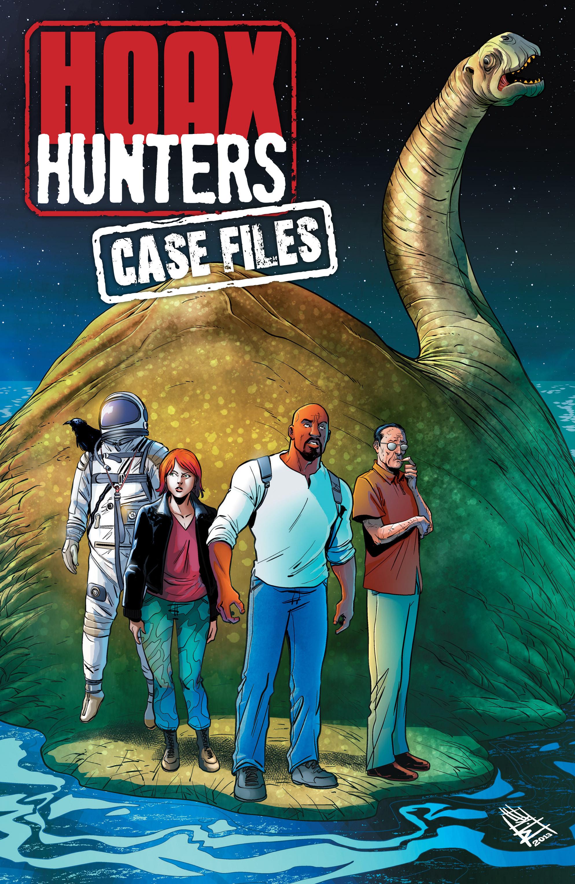 Read online Hoax Hunters (2012) comic -  Issue # TPB 3 - 102