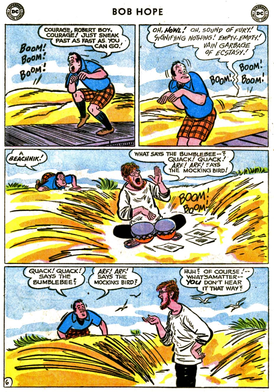 The Adventures of Bob Hope issue 72 - Page 8