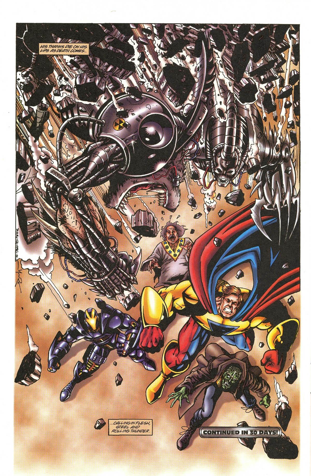 Read online UltraForce (1995) comic -  Issue #5 - 28
