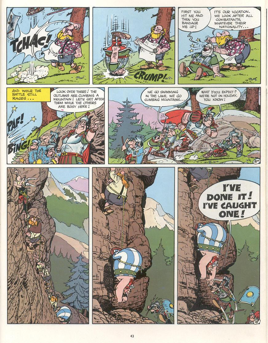 Read online Asterix comic -  Issue #16 - 40