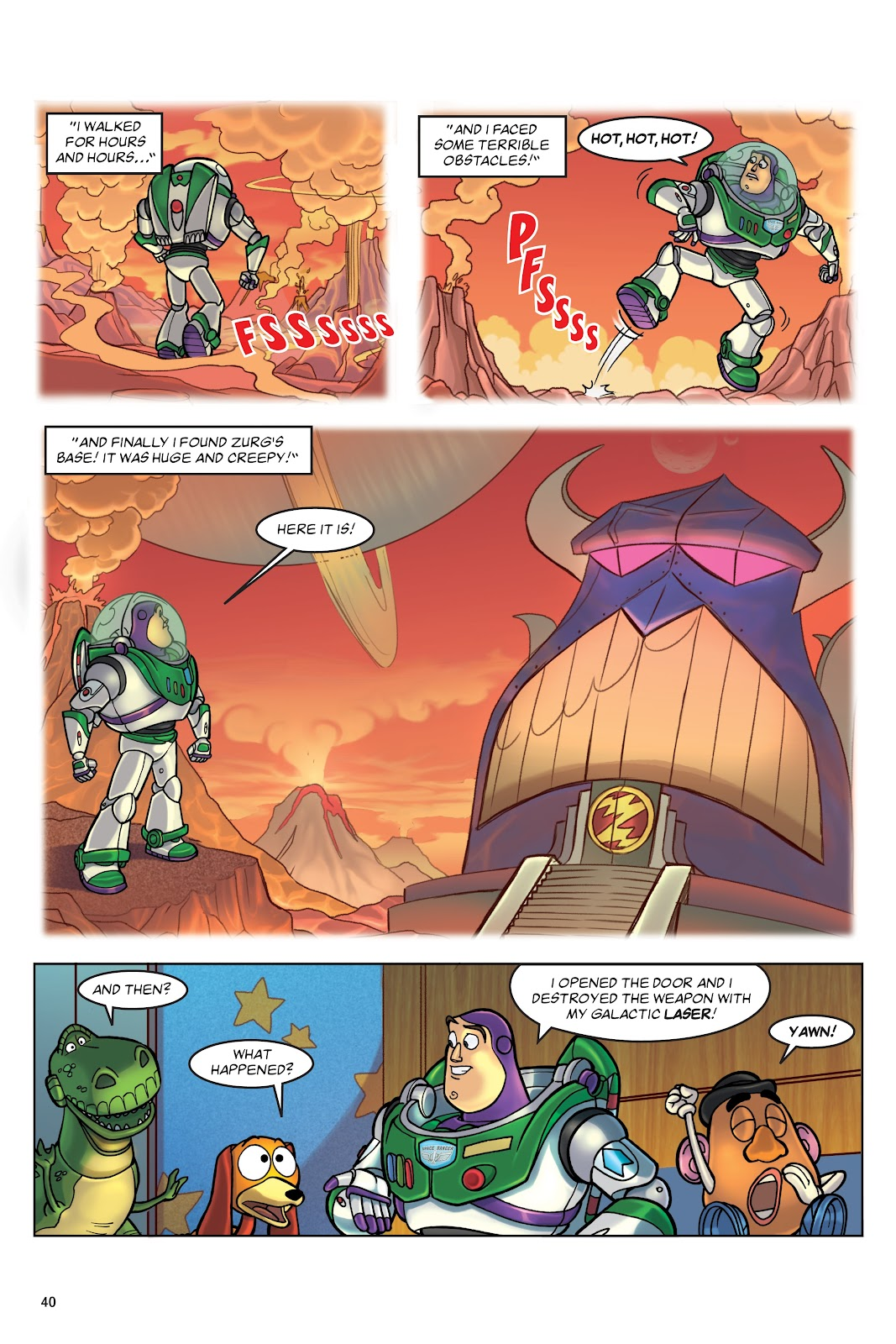 Read online DISNEY·PIXAR Toy Story Adventures comic -  Issue # TPB 1 (Part 1) - 40