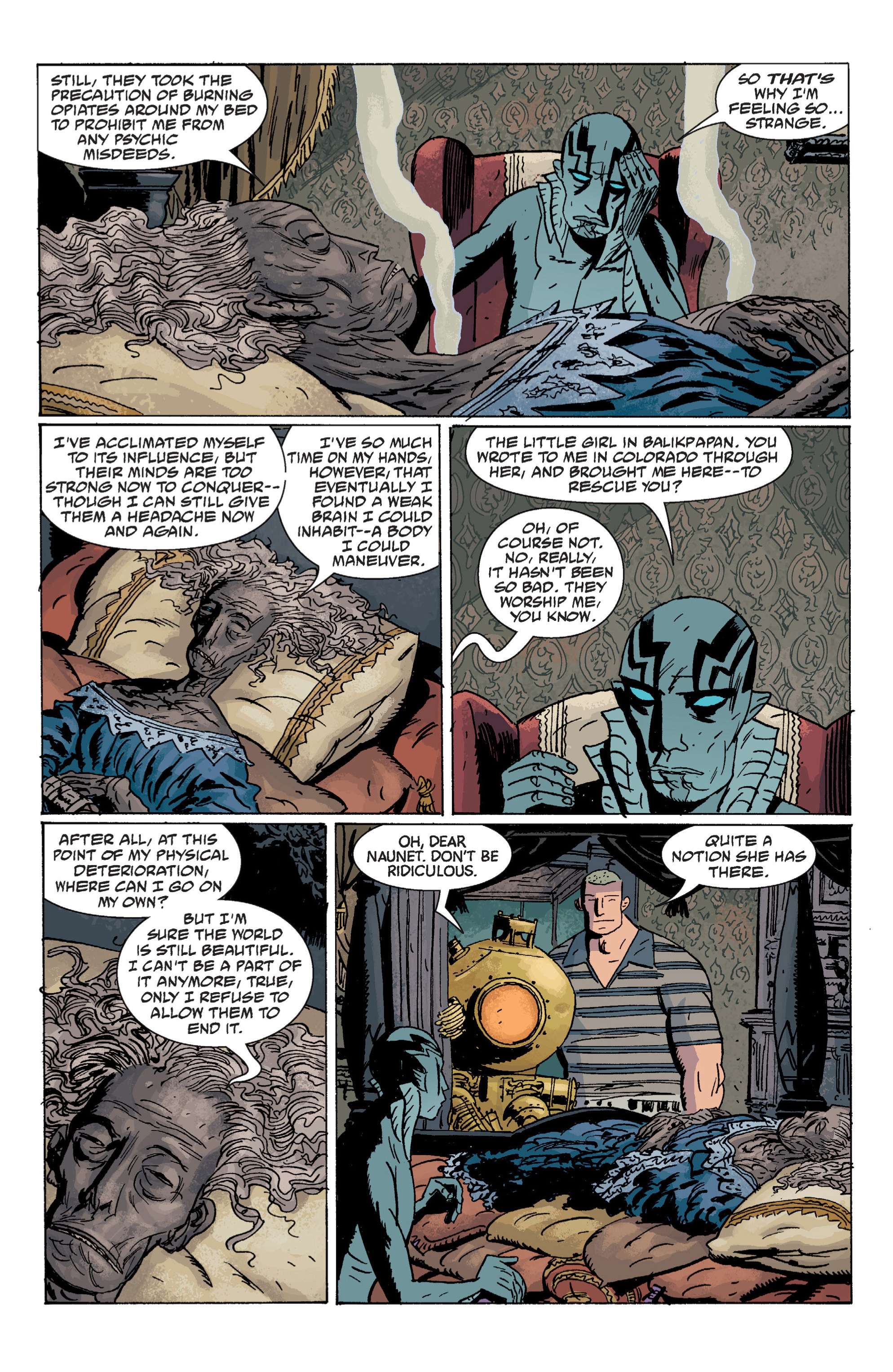 Read online B.P.R.D. (2003) comic -  Issue # TPB 7 - 93