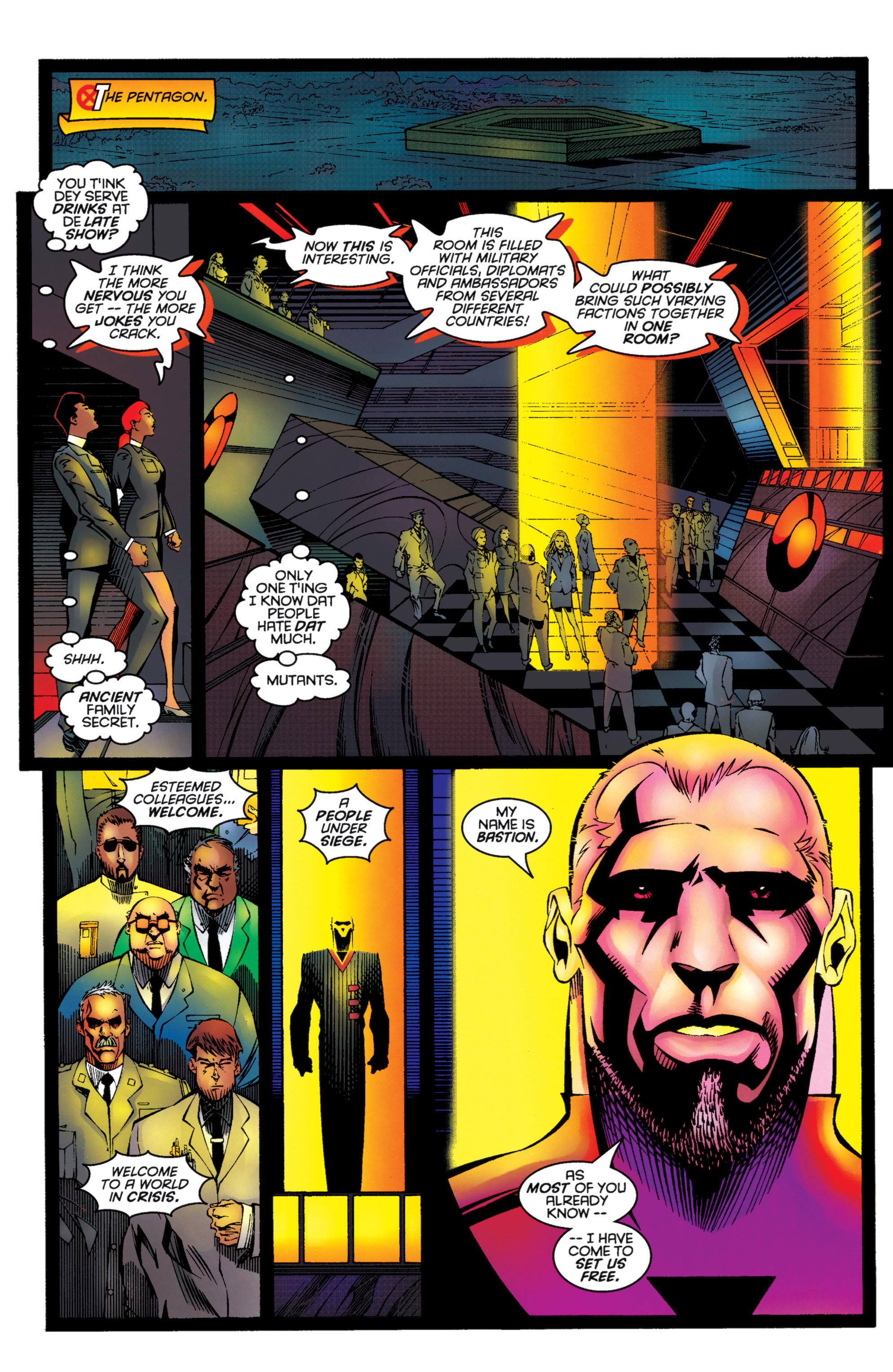 Read online Uncanny X-Men (1963) comic -  Issue #333 - 10
