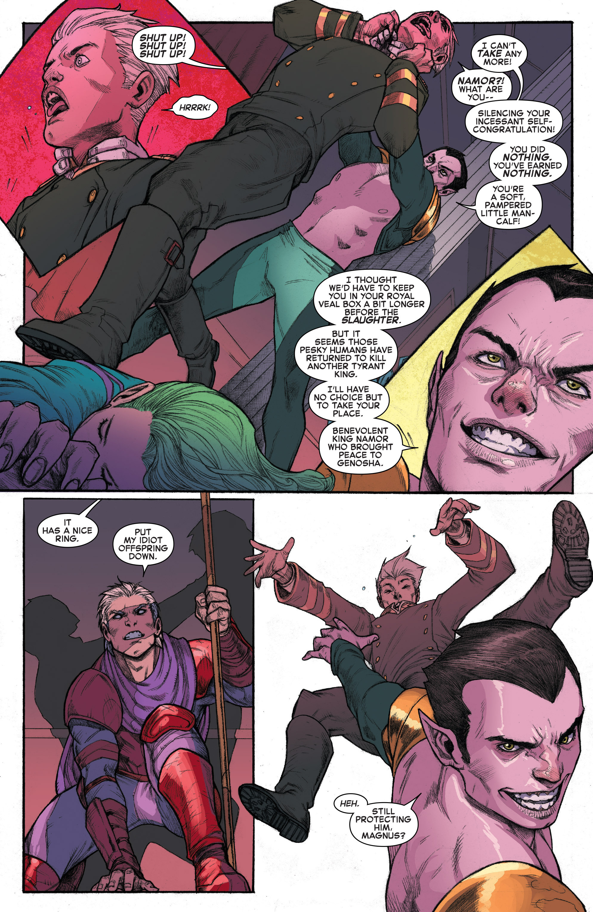 Read online House of M (2015) comic -  Issue #4 - 12