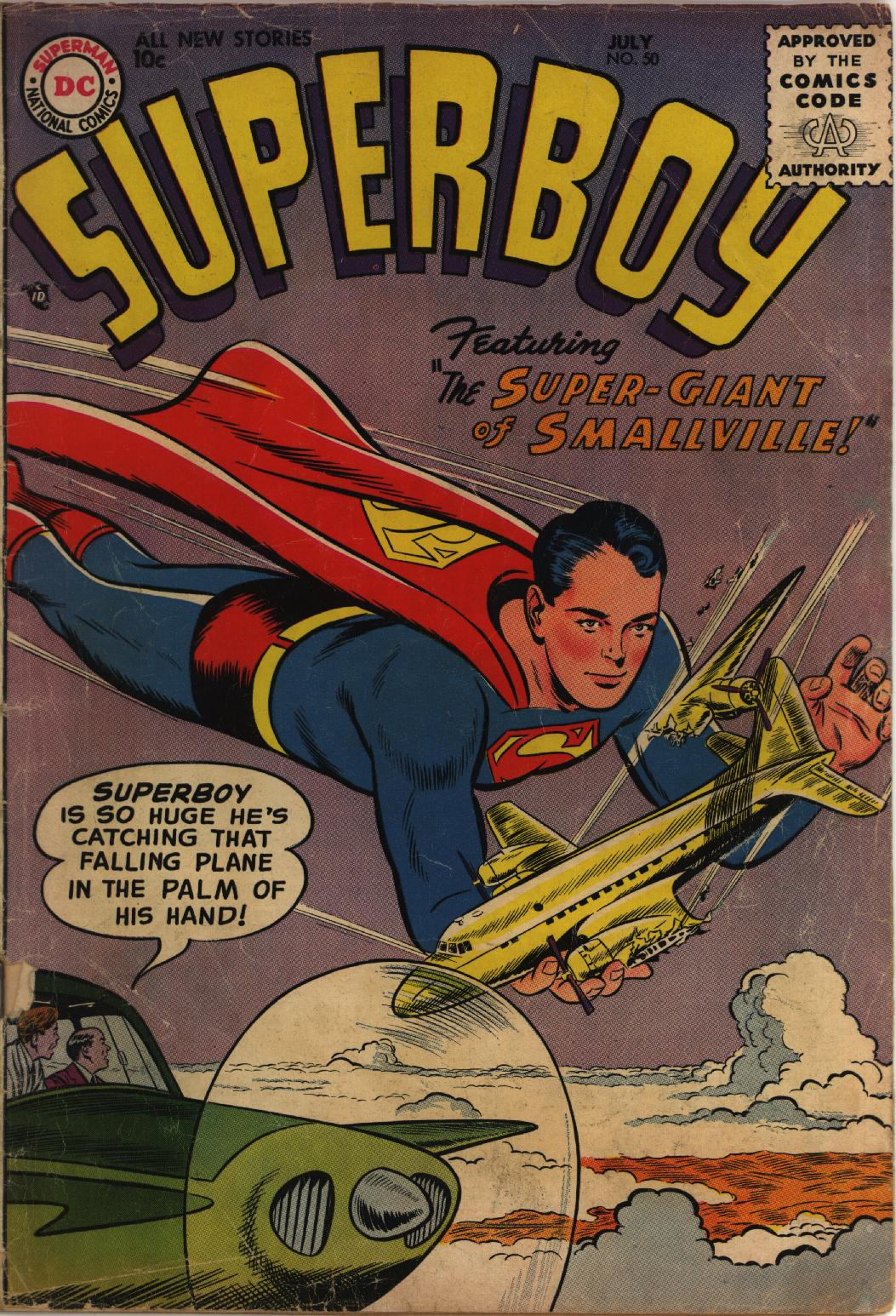 Superboy (1949) issue 50 - Page 1