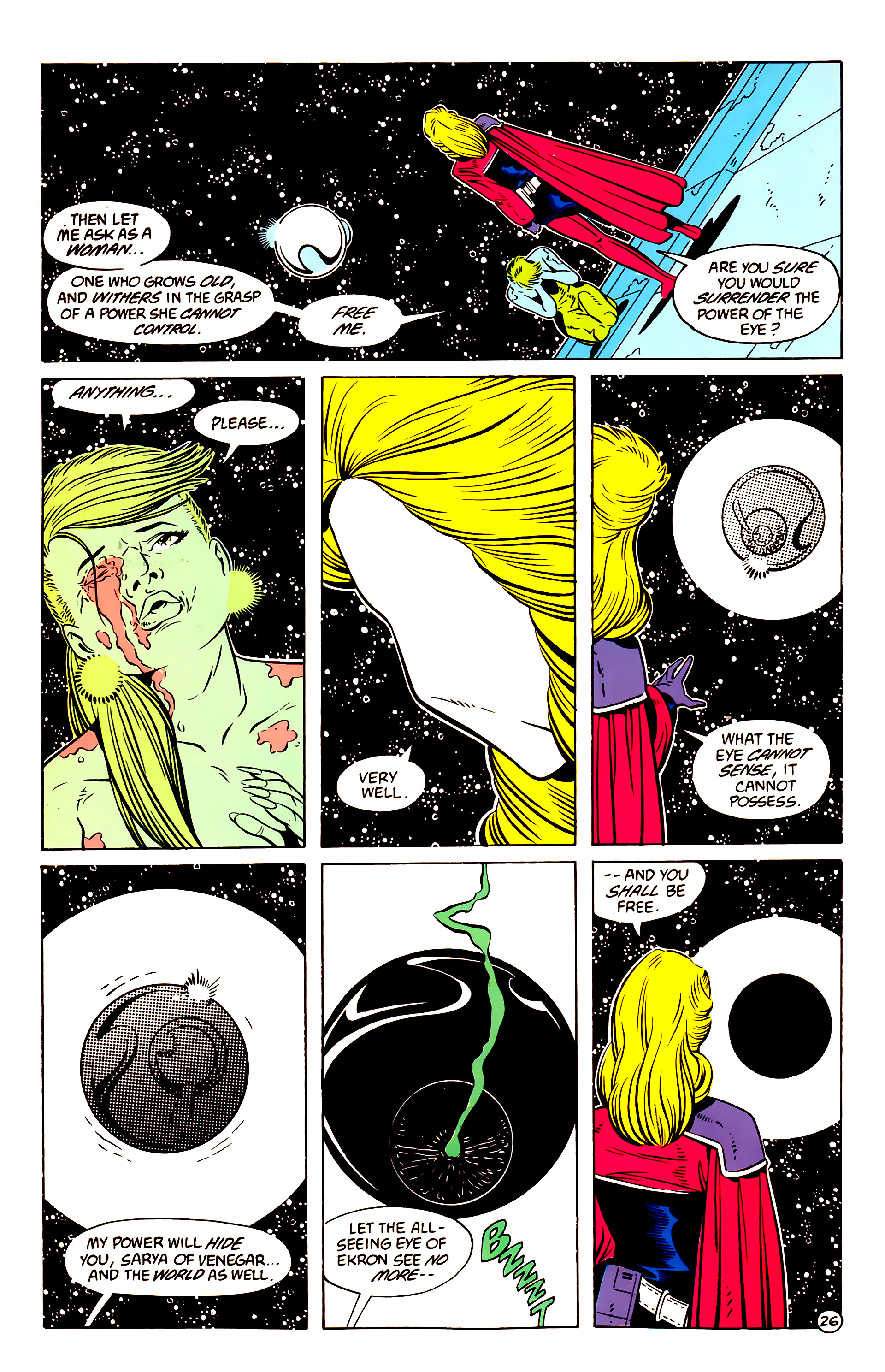 Legion of Super-Heroes (1984) 58 Page 26