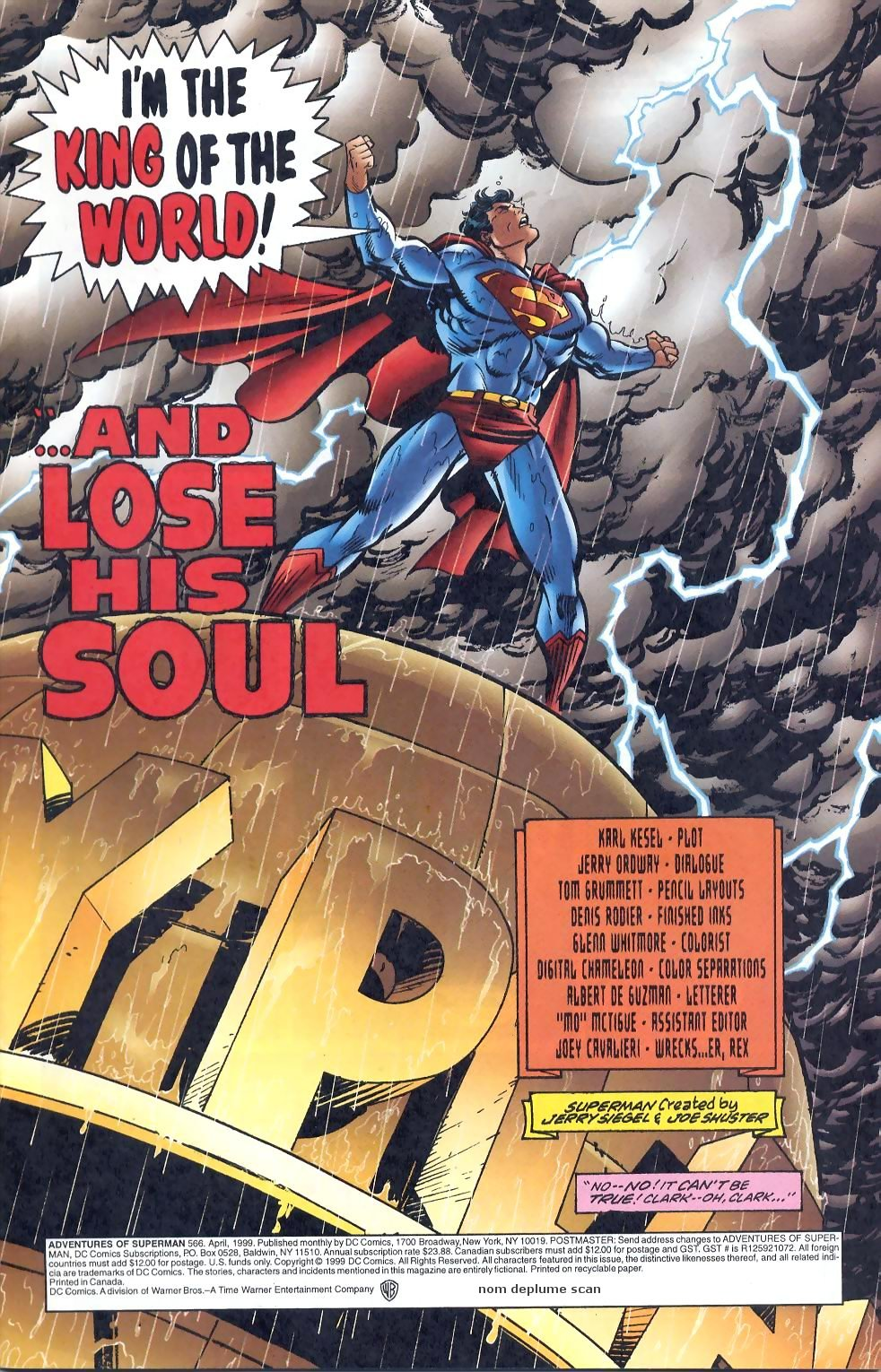 Read online Adventures of Superman (1987) comic -  Issue #566 - 2